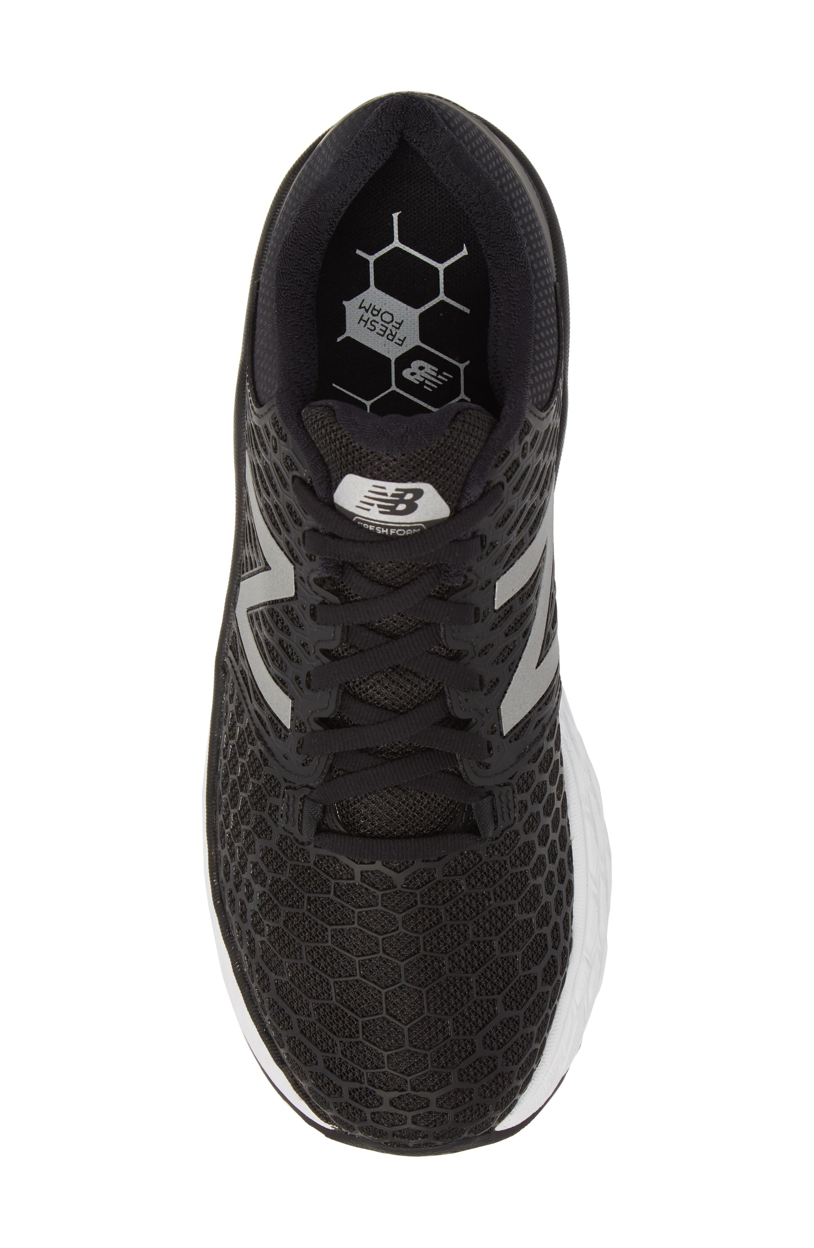 Fresh Foam Vongo v3 Running Shoe,                             Alternate thumbnail 5, color,                             BLACK