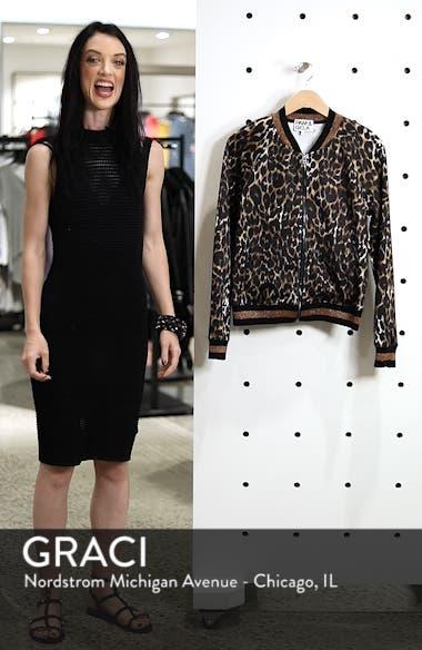Leopard Track Jacket, sales video thumbnail