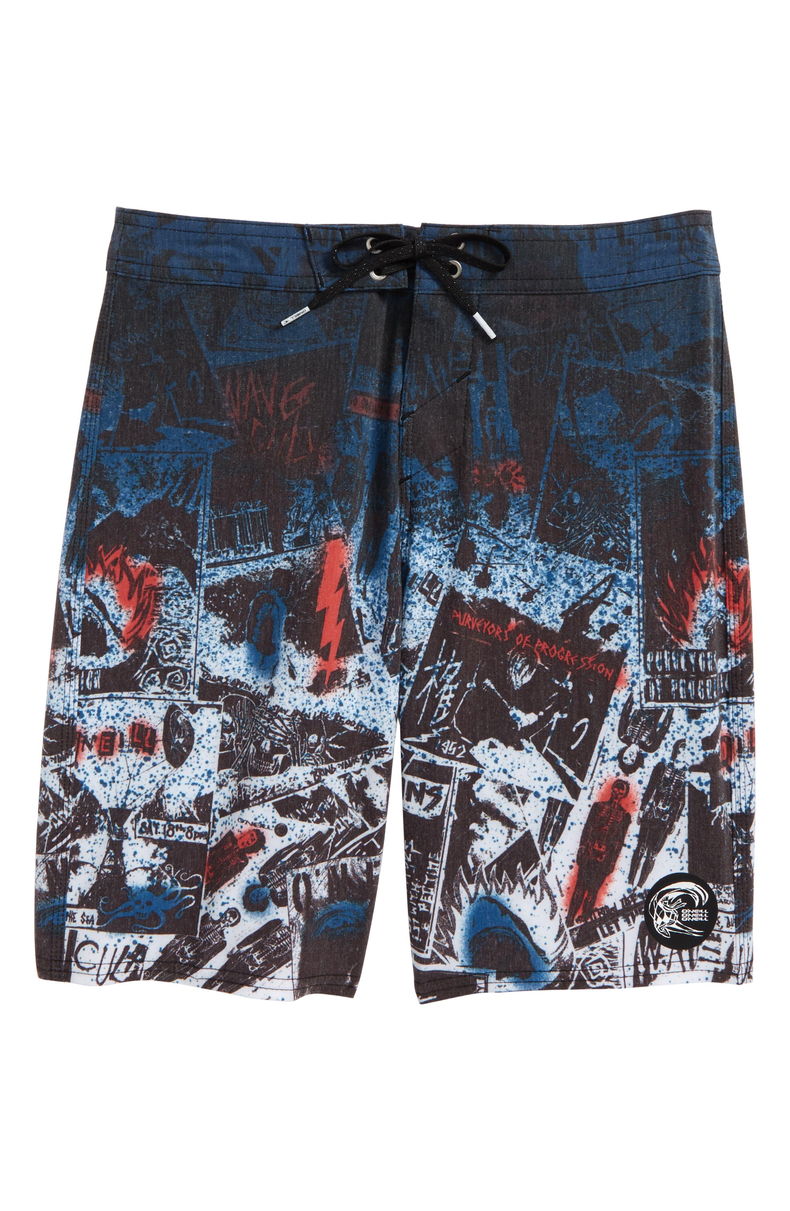 Hyperfreak Americore Board Shorts,                             Main thumbnail 1, color,                             001