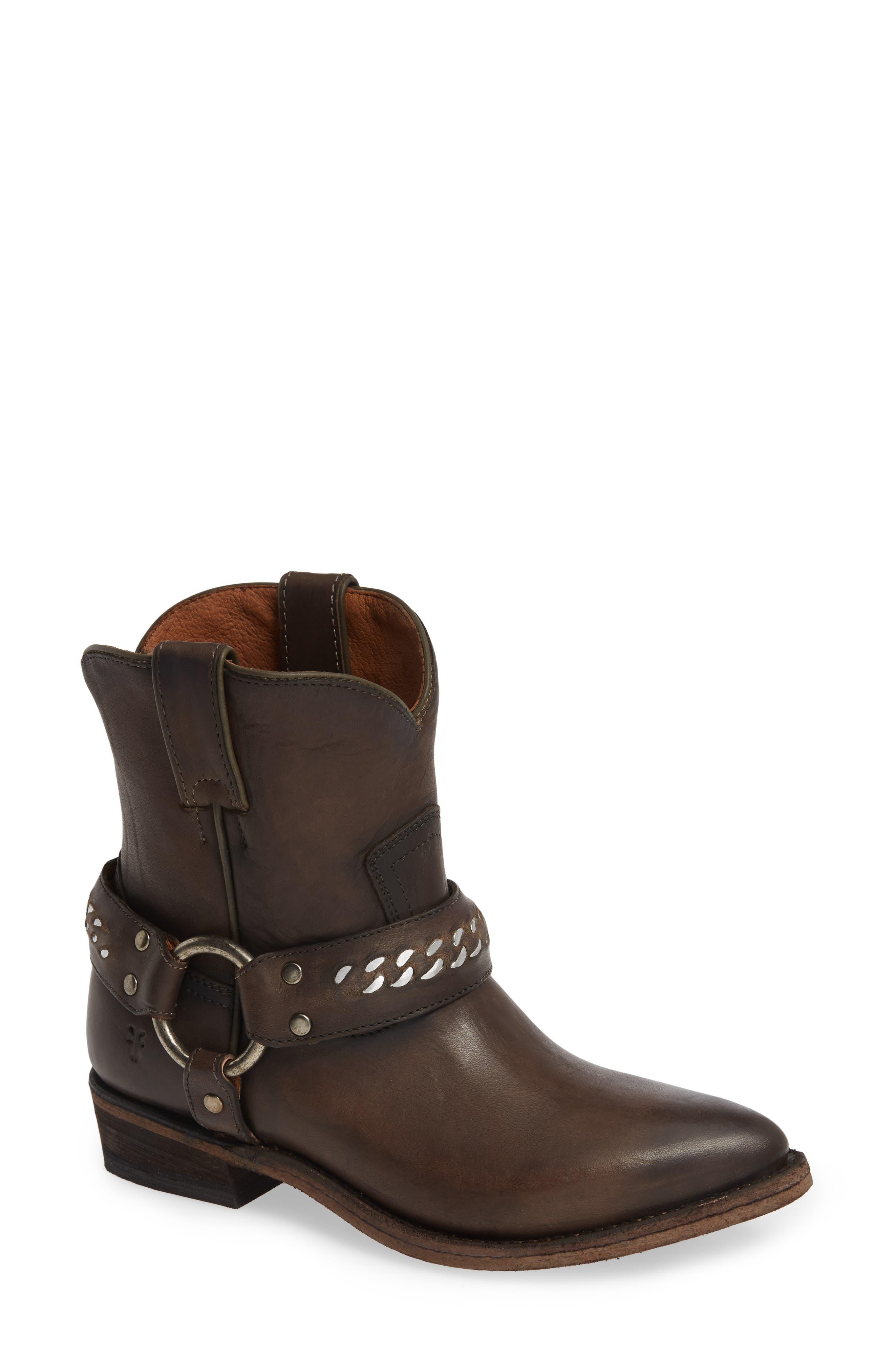 Frye Billy Western Boot, Grey