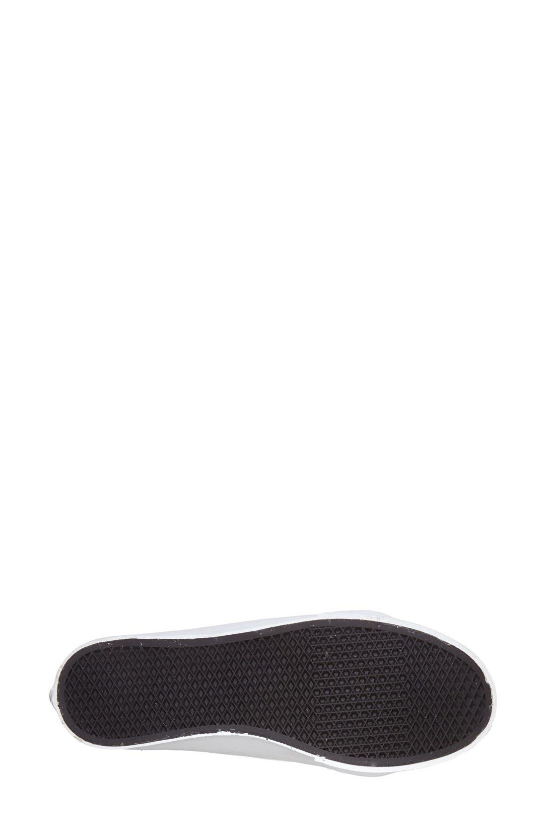 'Sk8-Hi Slim' Perforated Sneaker,                             Alternate thumbnail 8, color,