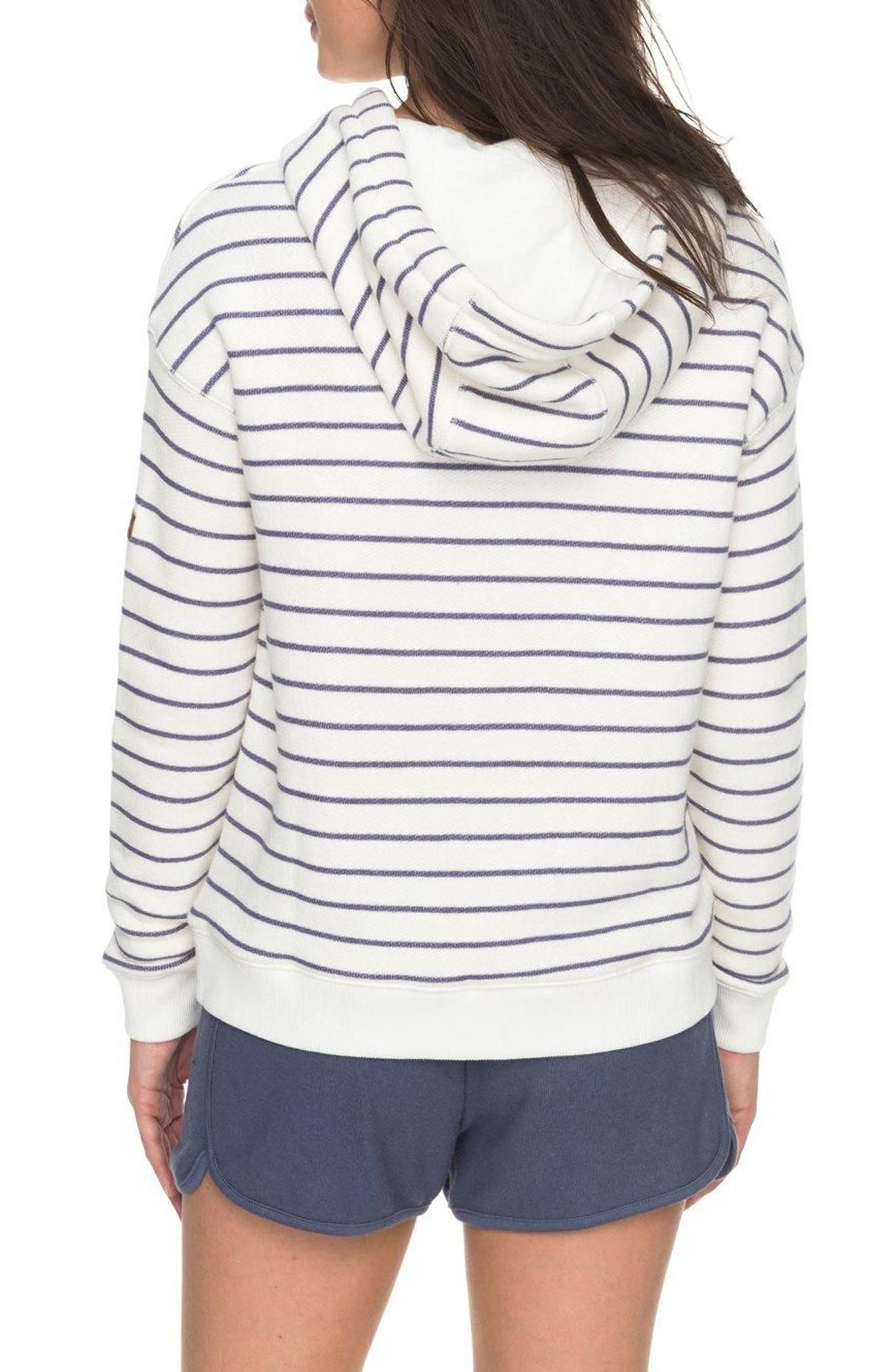 Shoal Stripe Hoodie,                             Alternate thumbnail 2, color,                             110
