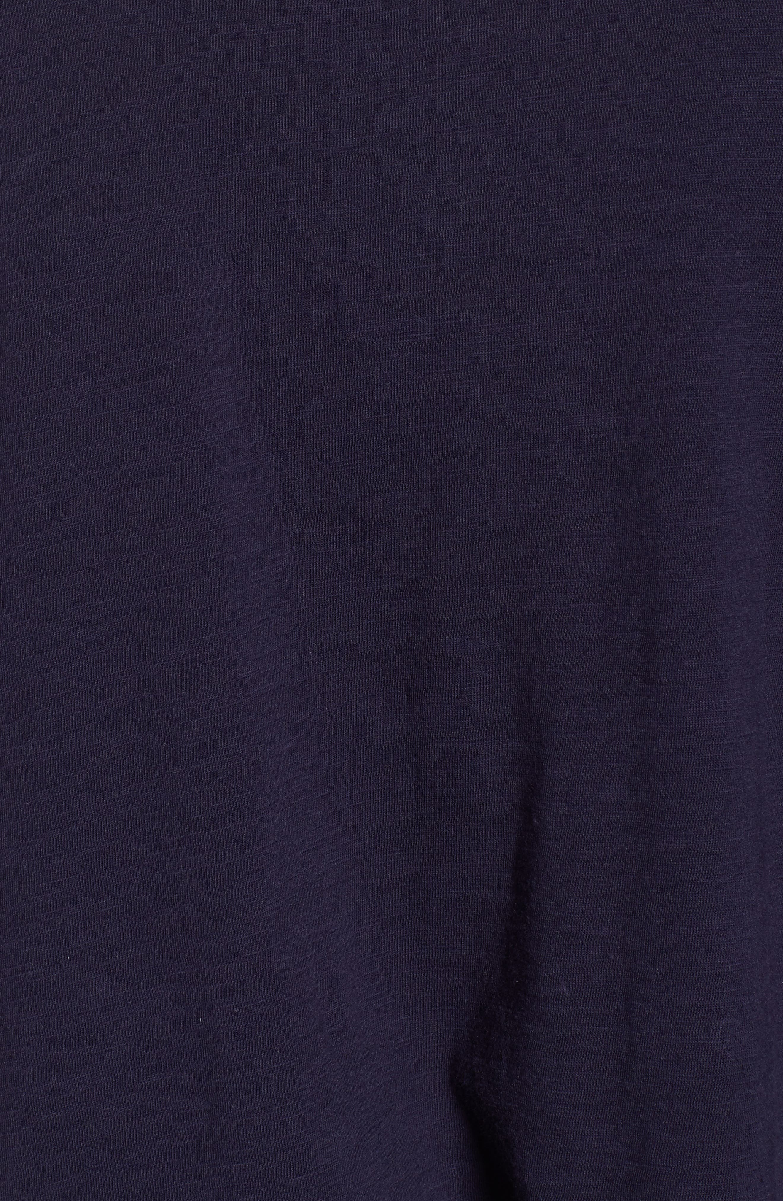 Organic Cotton Knit Top,                             Alternate thumbnail 42, color,