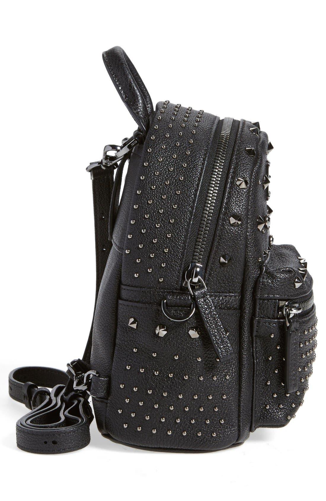 MCM,                             'X Mini Bebe Boo' Backpack,                             Alternate thumbnail 5, color,                             001