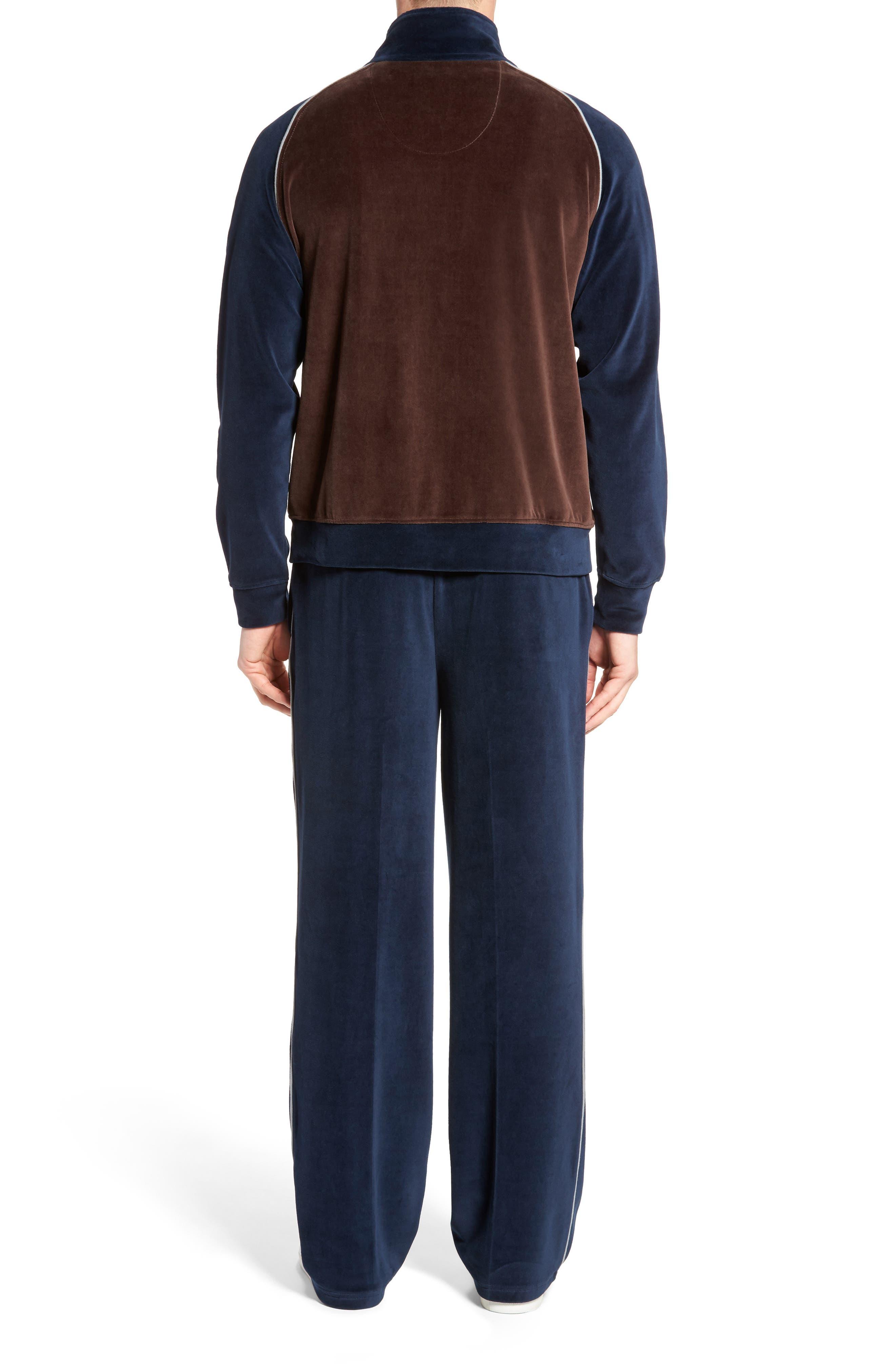 Strathcona Velour Warm-Up Suit,                             Alternate thumbnail 2, color,                             410