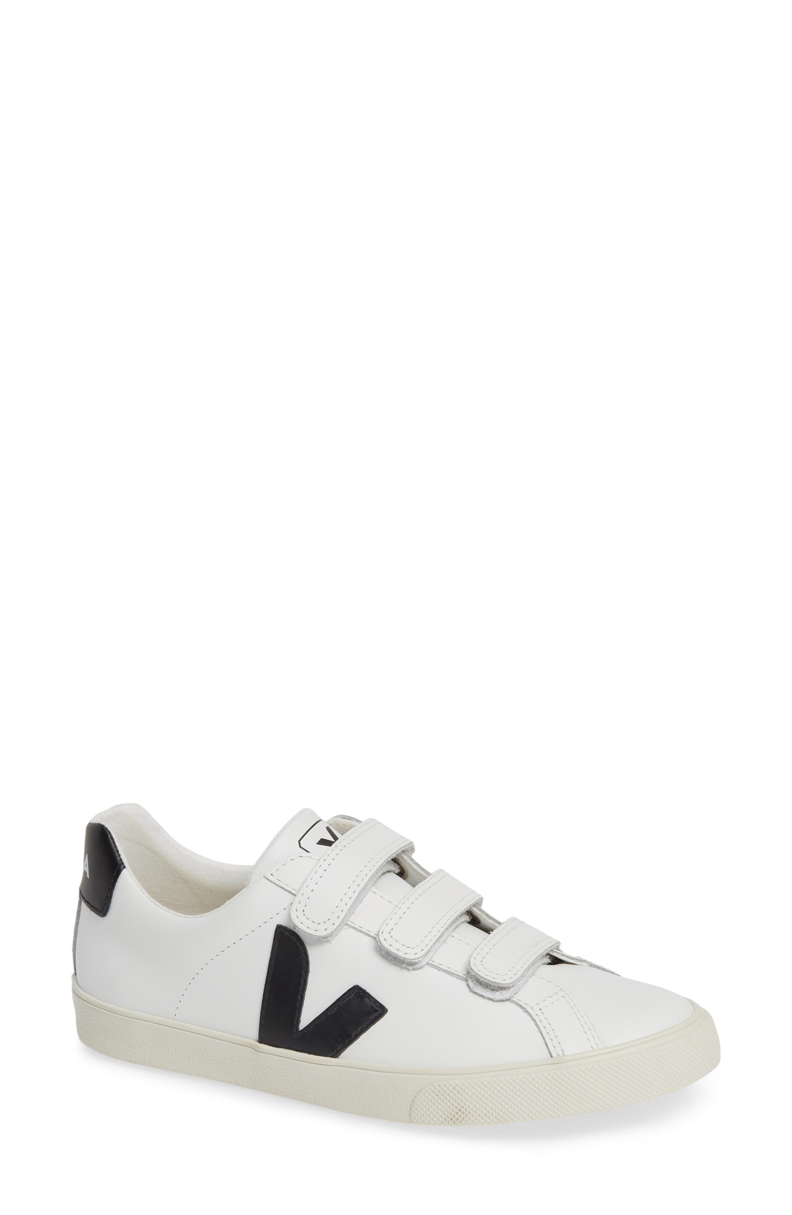 Espalar 3-Lock Sneaker,                             Main thumbnail 1, color,                             EXTRA WHITE BLACK