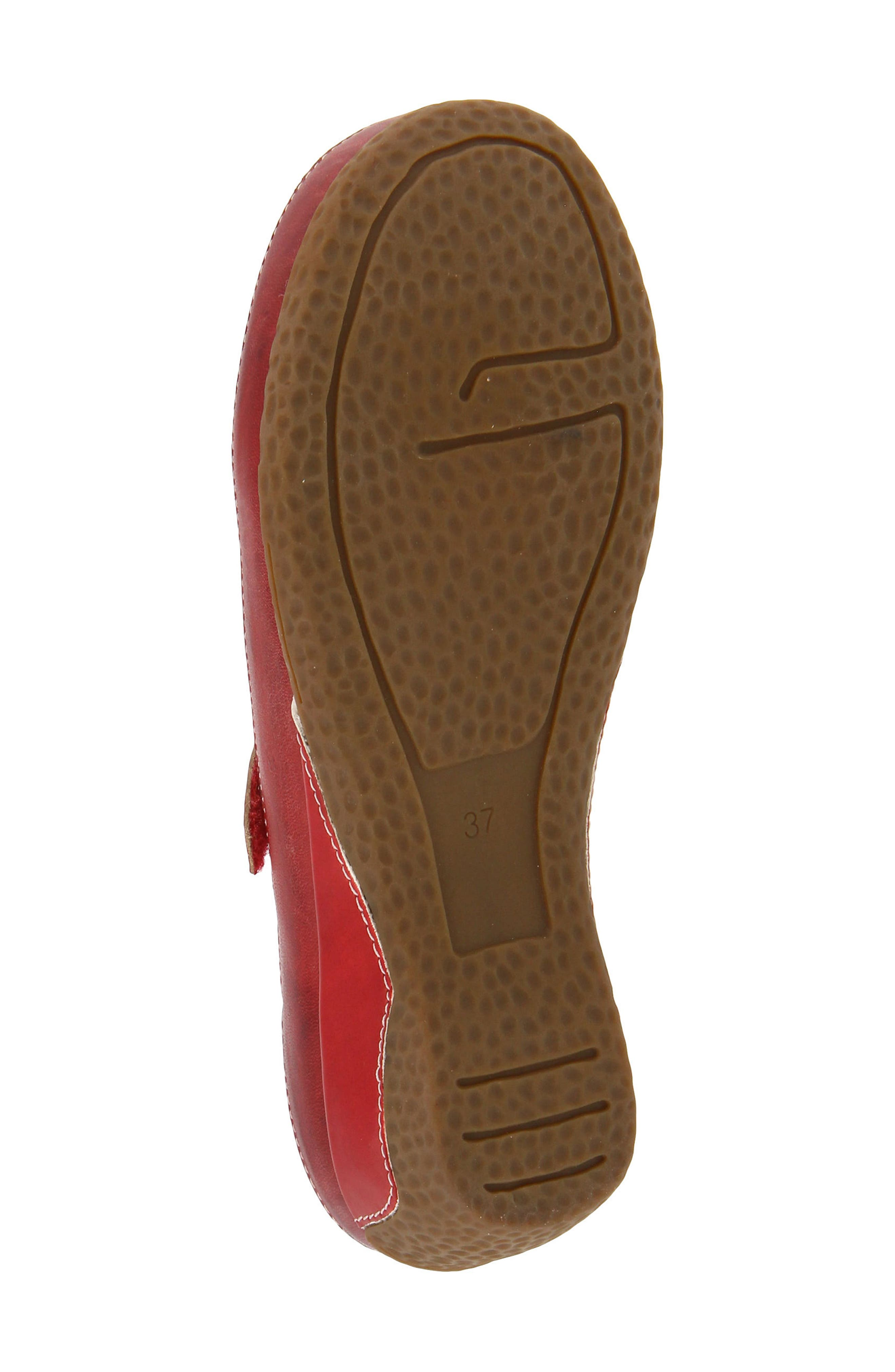 Finlandia Pump,                             Alternate thumbnail 5, color,                             RED LEATHER
