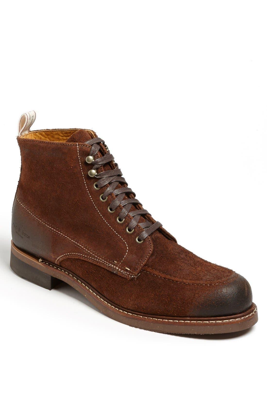 'Rowan' Moc Toe Boot, Main, color, 200