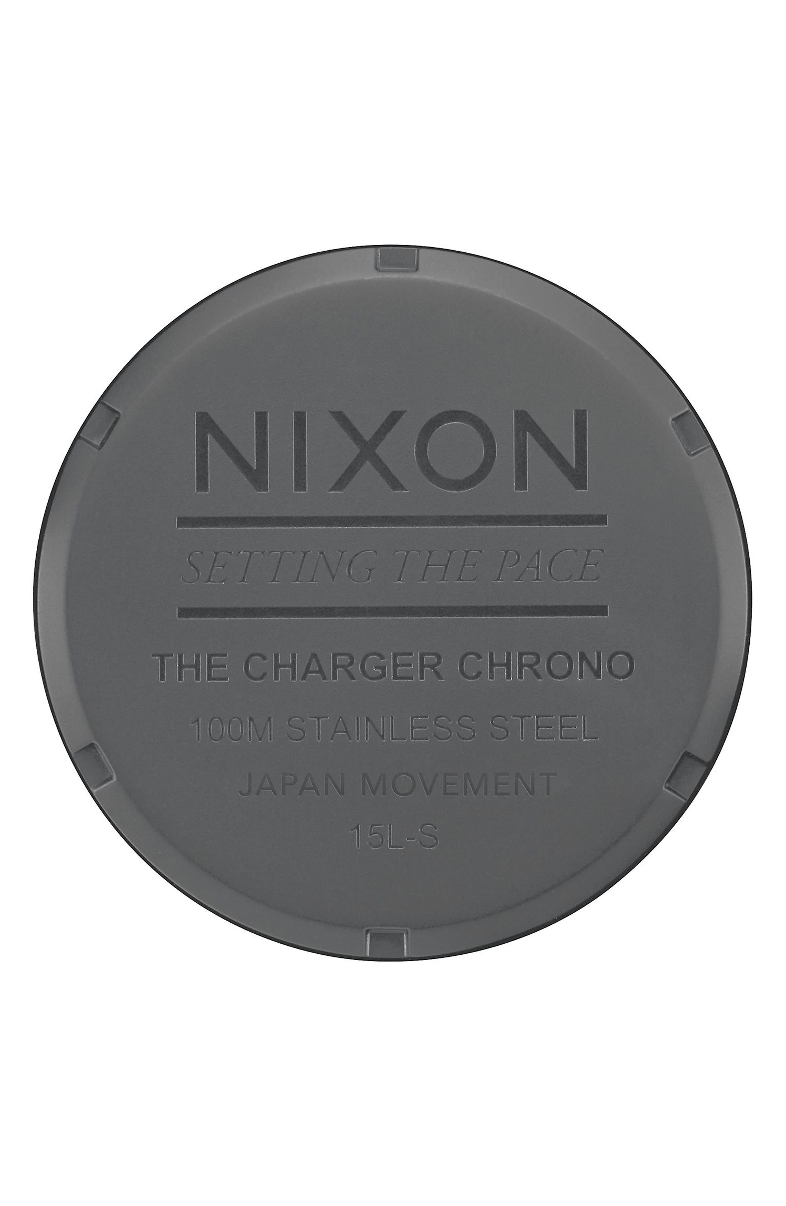 Charger Chronograph Bracelet Watch, 42mm,                             Alternate thumbnail 9, color,