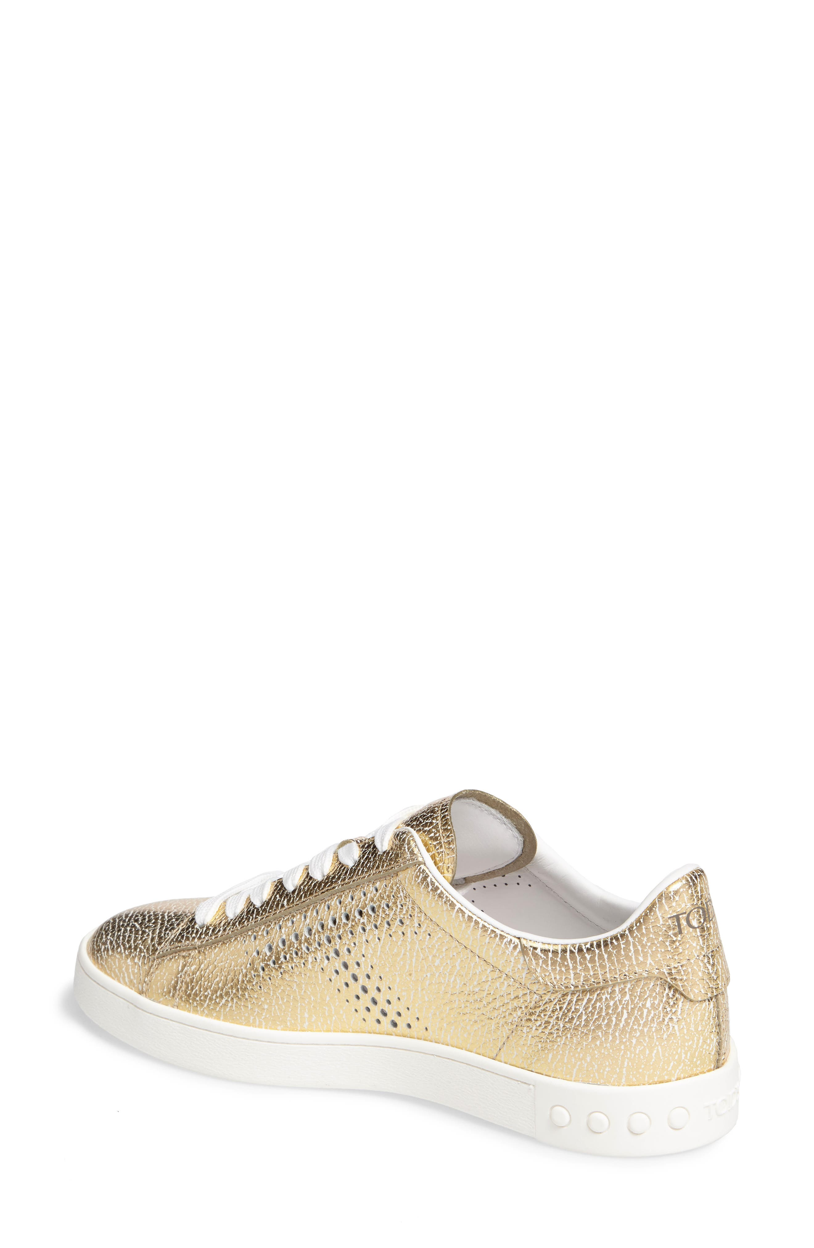 Perforated T Sneaker,                             Alternate thumbnail 6, color,
