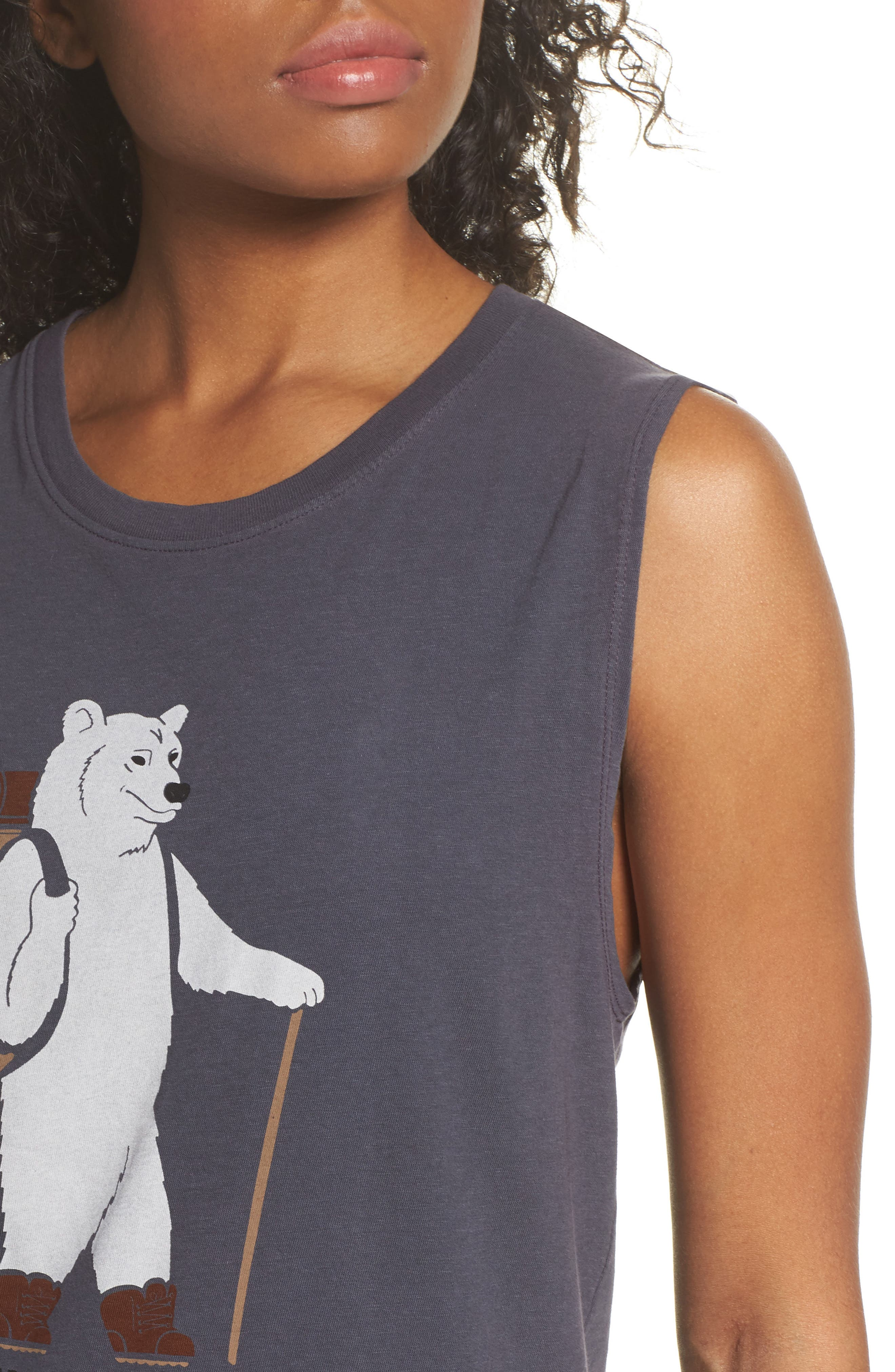 Well Loved Cruisin' Outdoors Muscle Tank,                             Alternate thumbnail 4, color,                             001