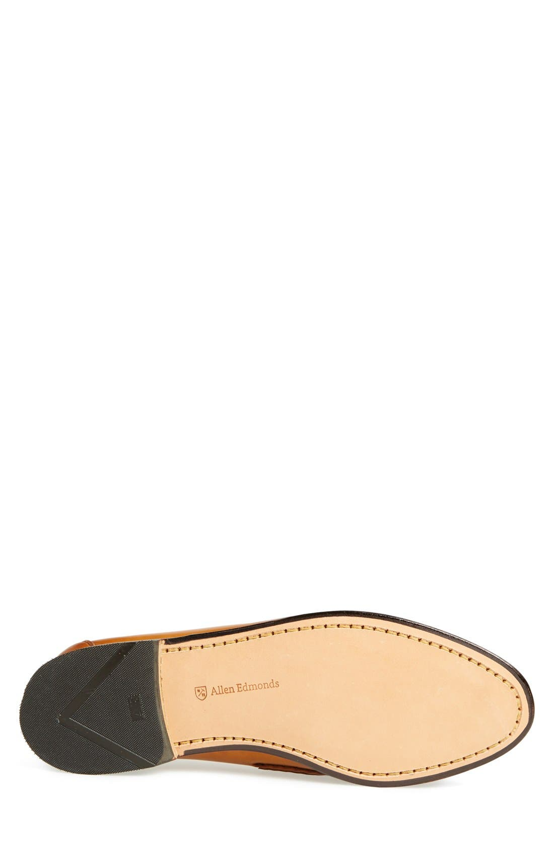 'Cavanaugh' Penny Loafer,                             Alternate thumbnail 4, color,                             WALNUT LEATHER