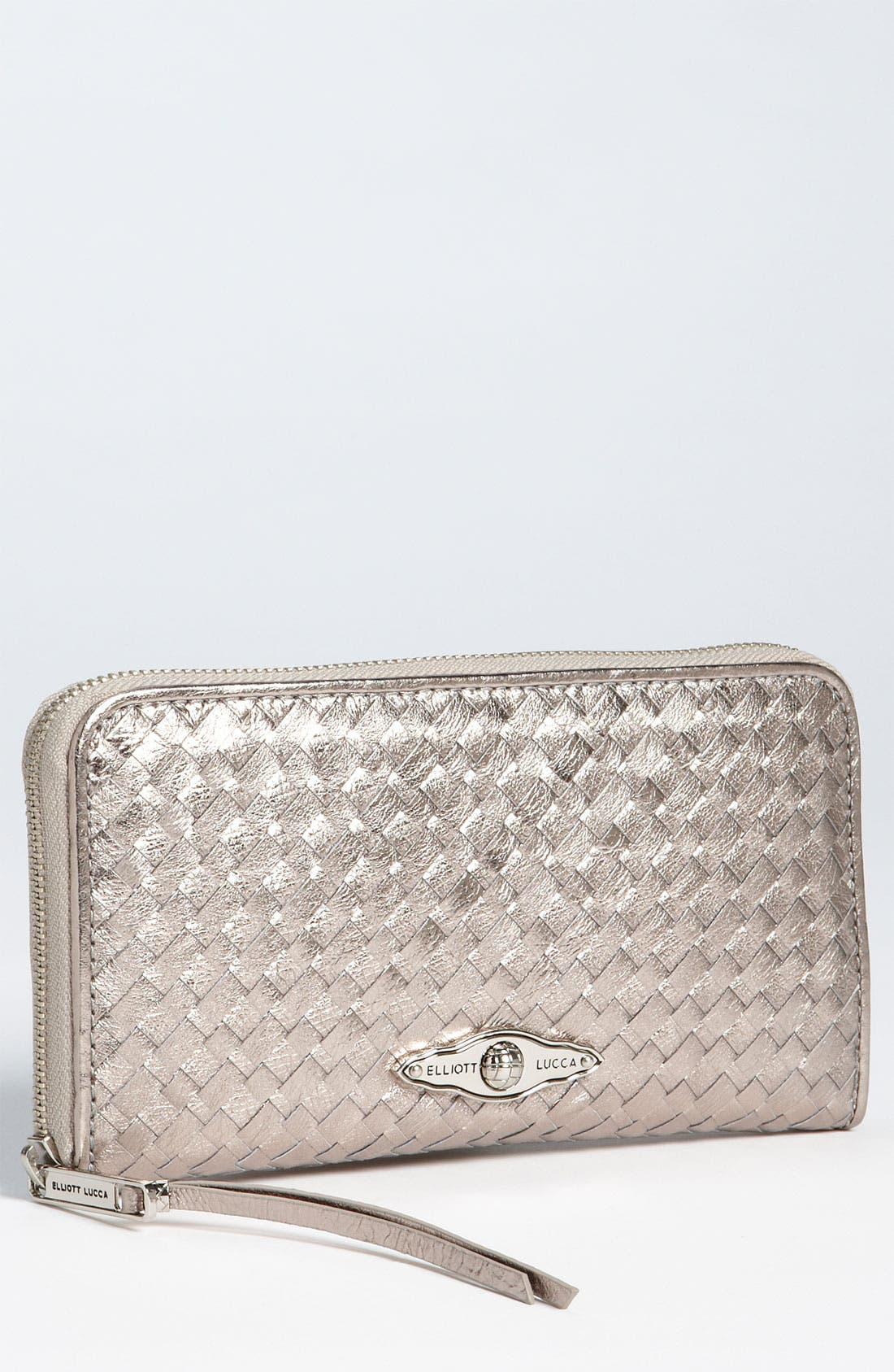 ELLIOTT LUCCA 'Large' Zip Around Wallet, Main, color, 040