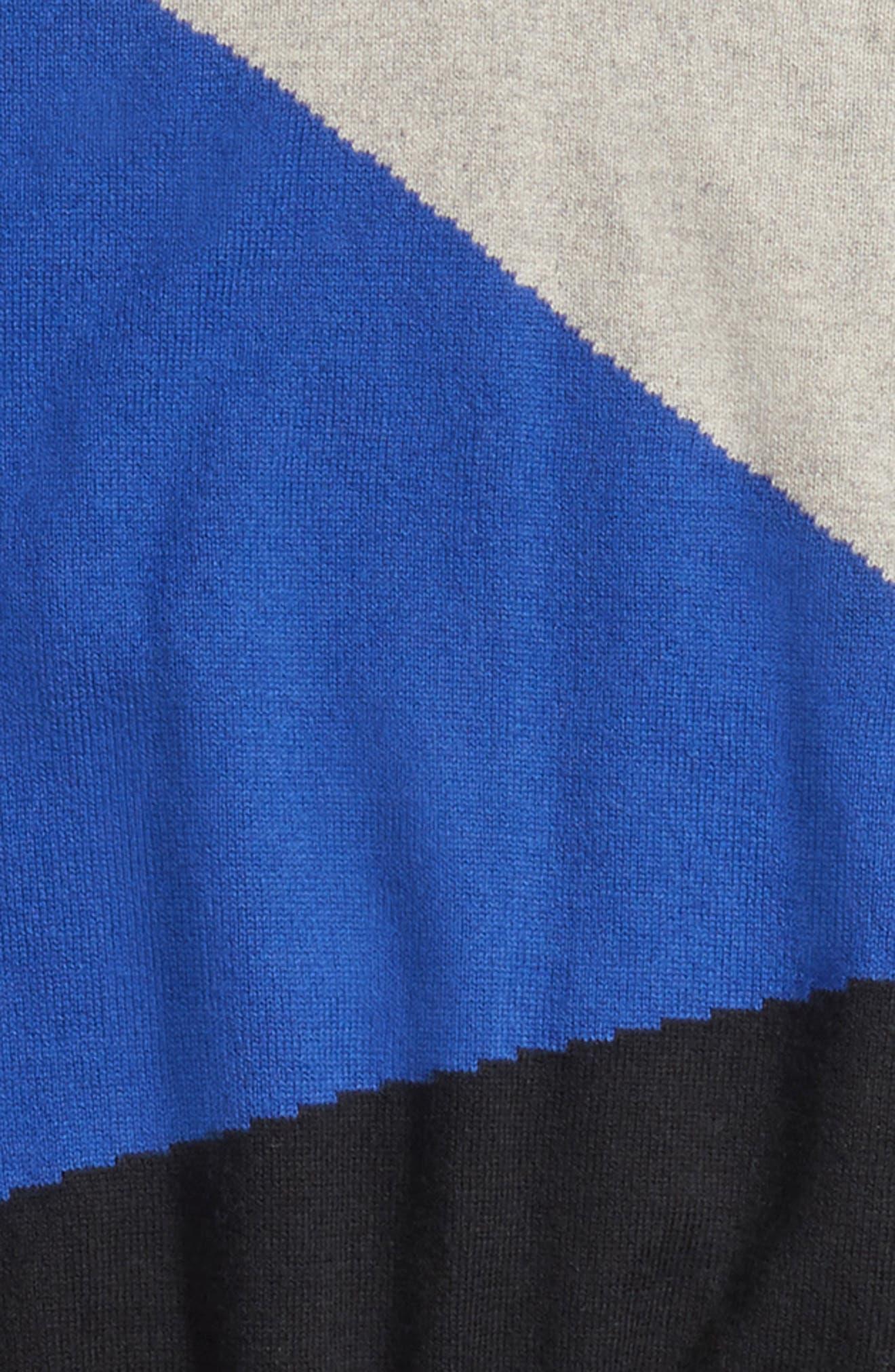 Colorblock Sweater,                             Alternate thumbnail 2, color,                             482