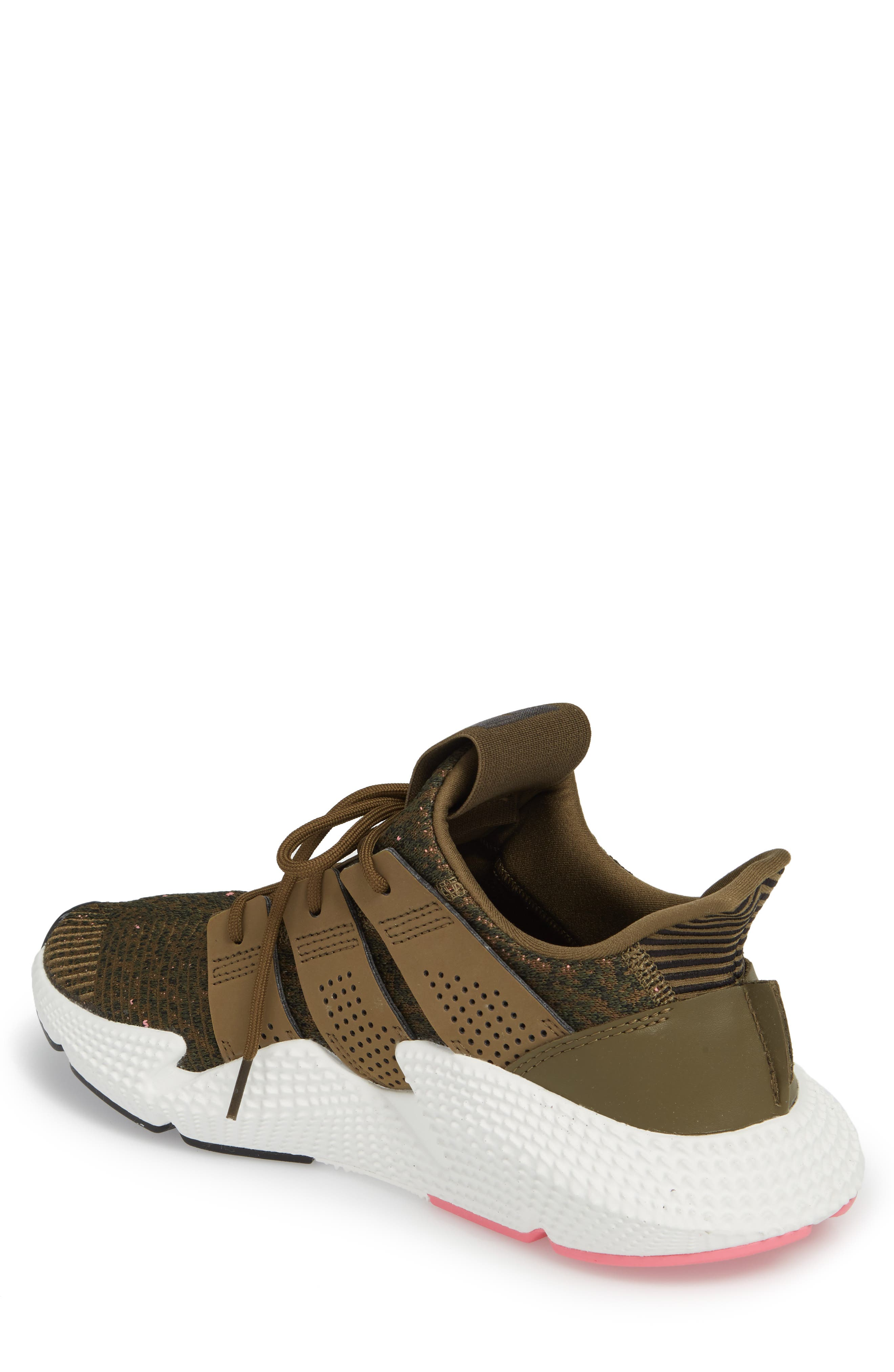 Prophere Sneaker,                             Alternate thumbnail 2, color,                             TRACE OLIVE/ CHALK PINK