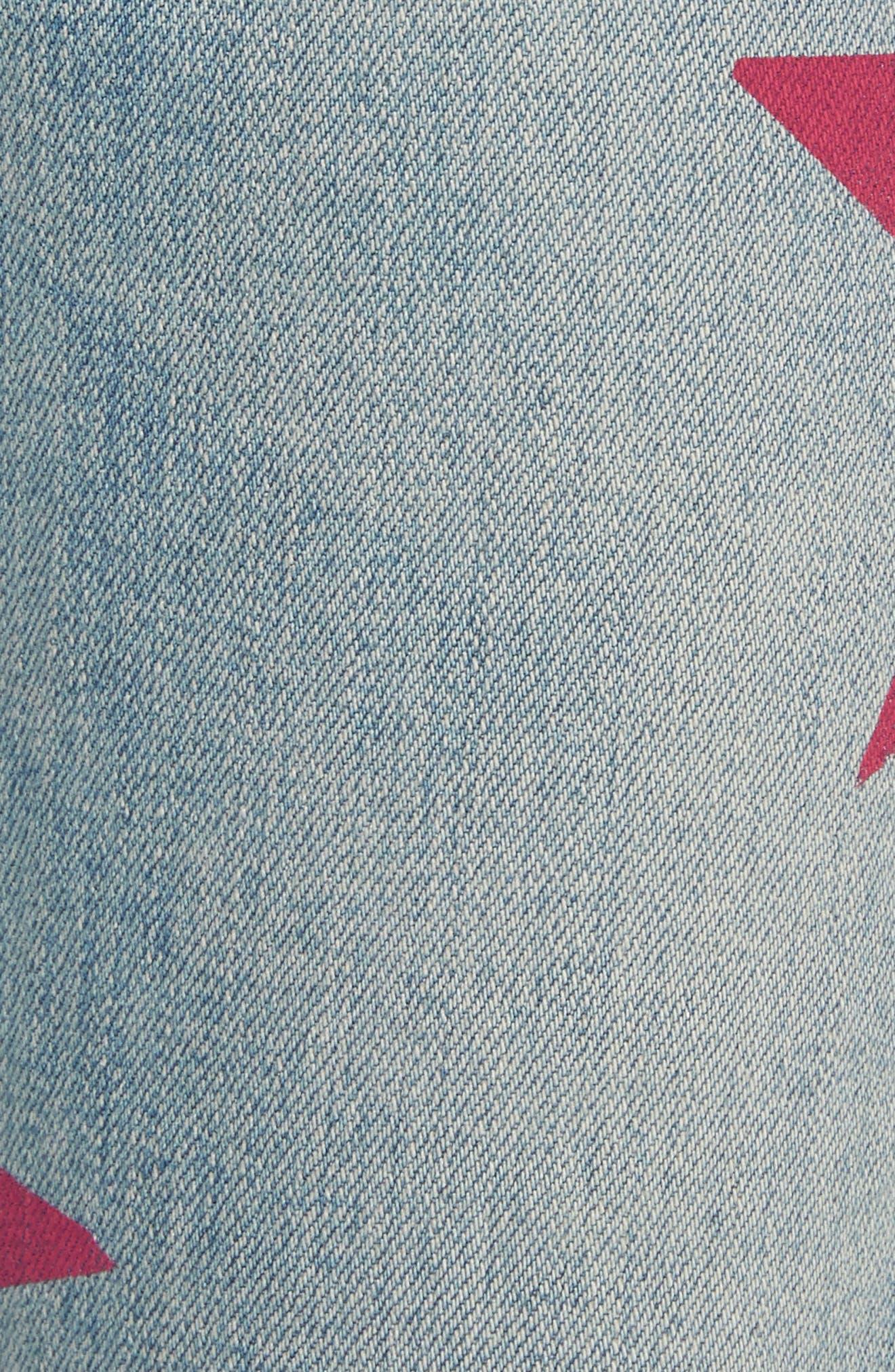 The Skinny Boyfriend Star Jeans,                             Alternate thumbnail 5, color,                             400