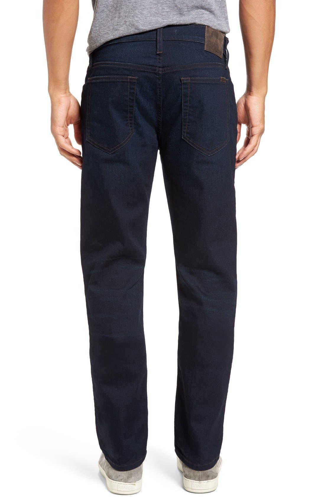 Brixton Kinetic Slim Straight Leg Jeans,                             Alternate thumbnail 3, color,                             400
