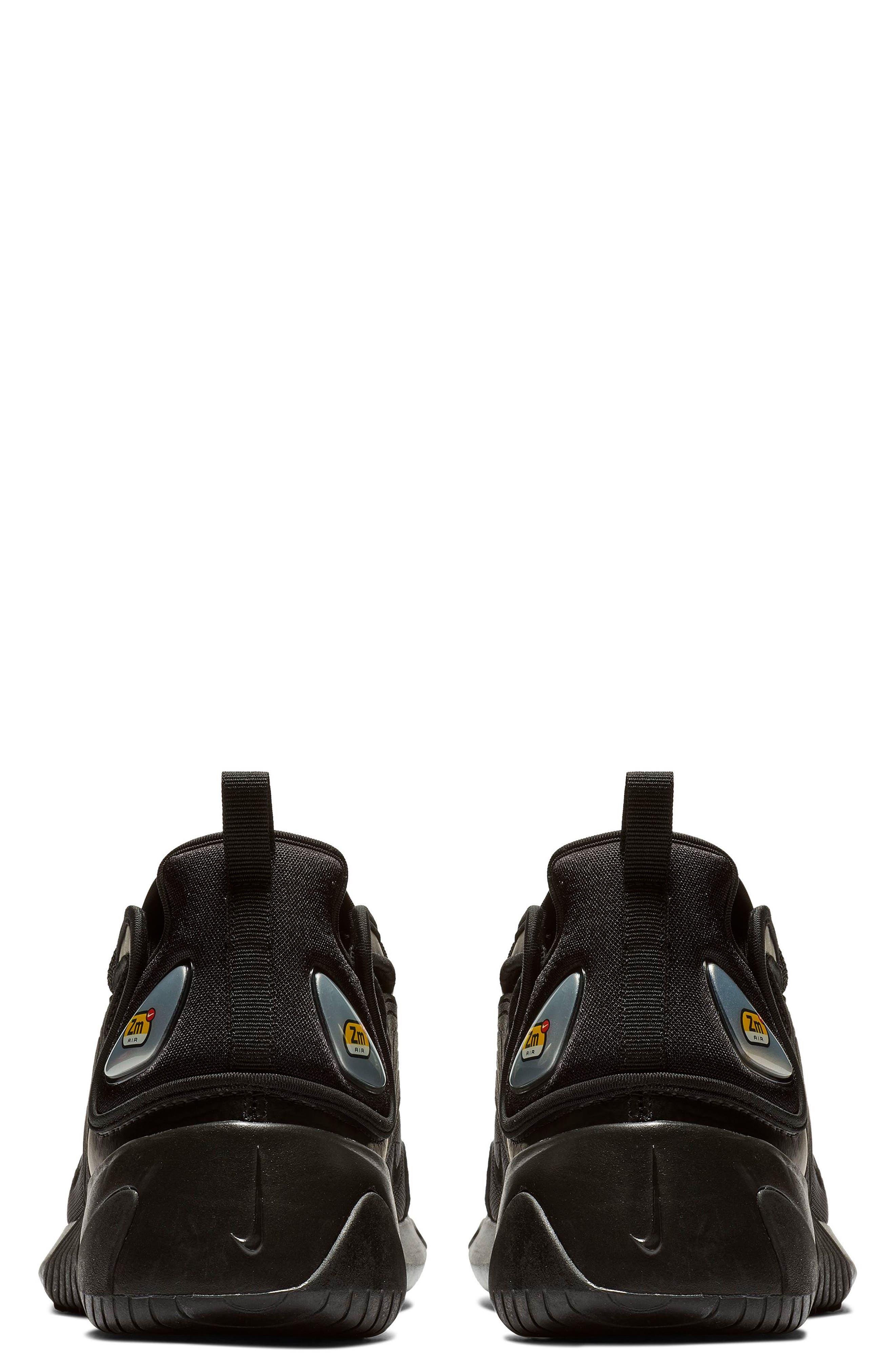 Zoom 2K Sneaker,                             Alternate thumbnail 2, color,                             BLACK/ BLACK/ ANTHRACITE