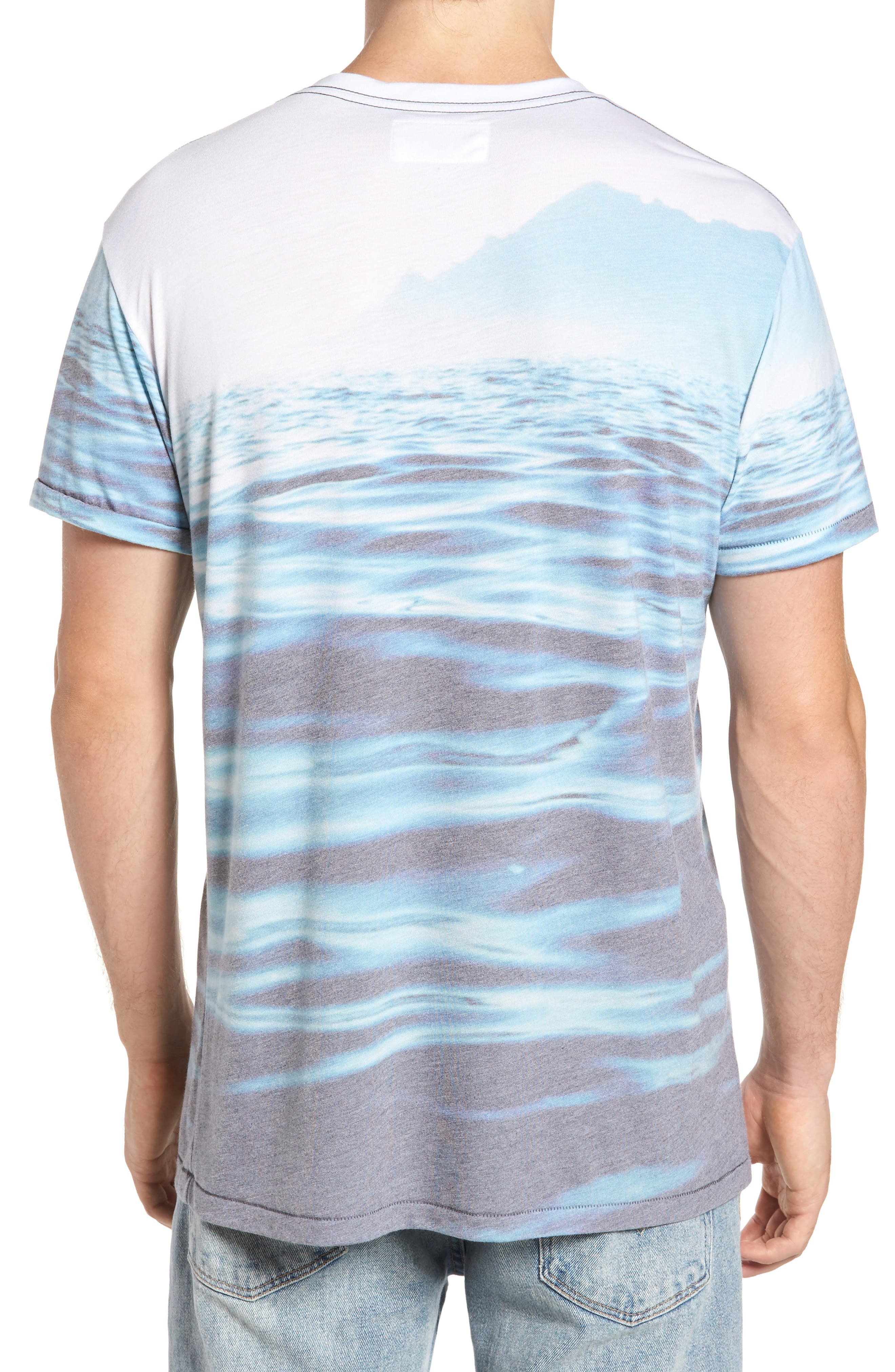 Mirage Waters T-Shirt,                             Alternate thumbnail 2, color,