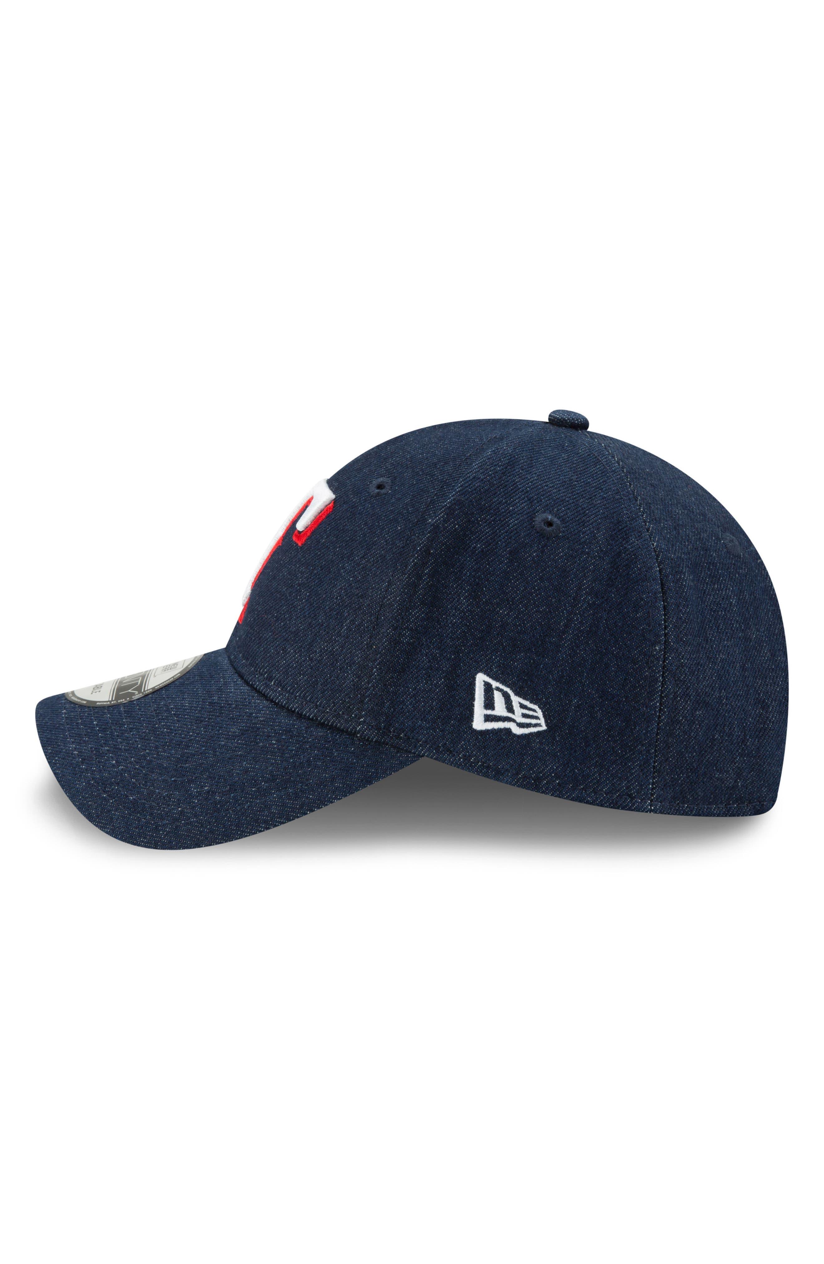 x Levi's<sup>®</sup> MLB17 Denim Baseball Cap,                             Alternate thumbnail 5, color,                             001