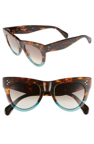83f40877995 CELINE 51mm Cat Eye Sunglasses