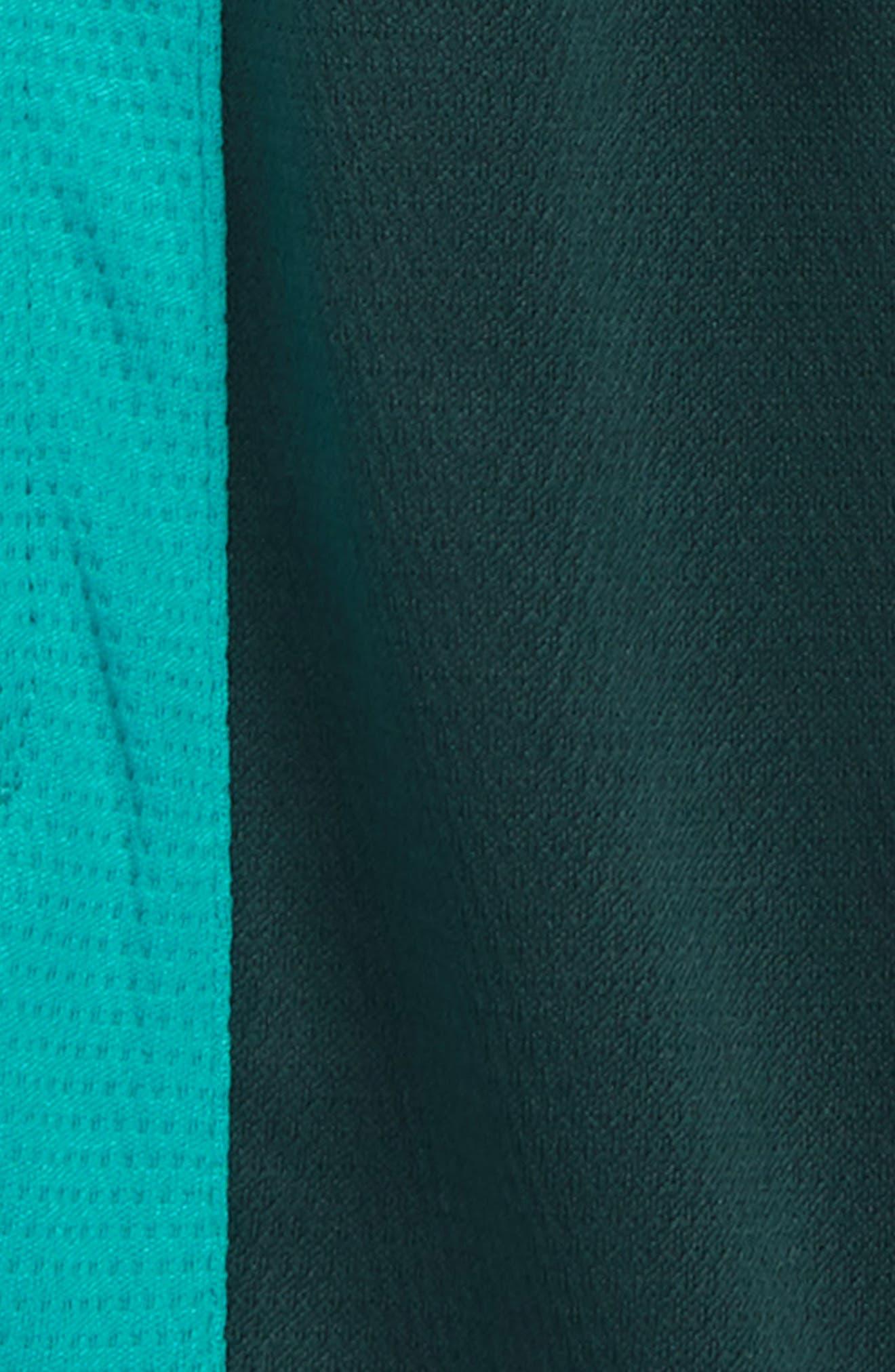 Jordan Rise Athletic Shorts,                             Alternate thumbnail 3, color,                             MIDNIGHT SPRUCE