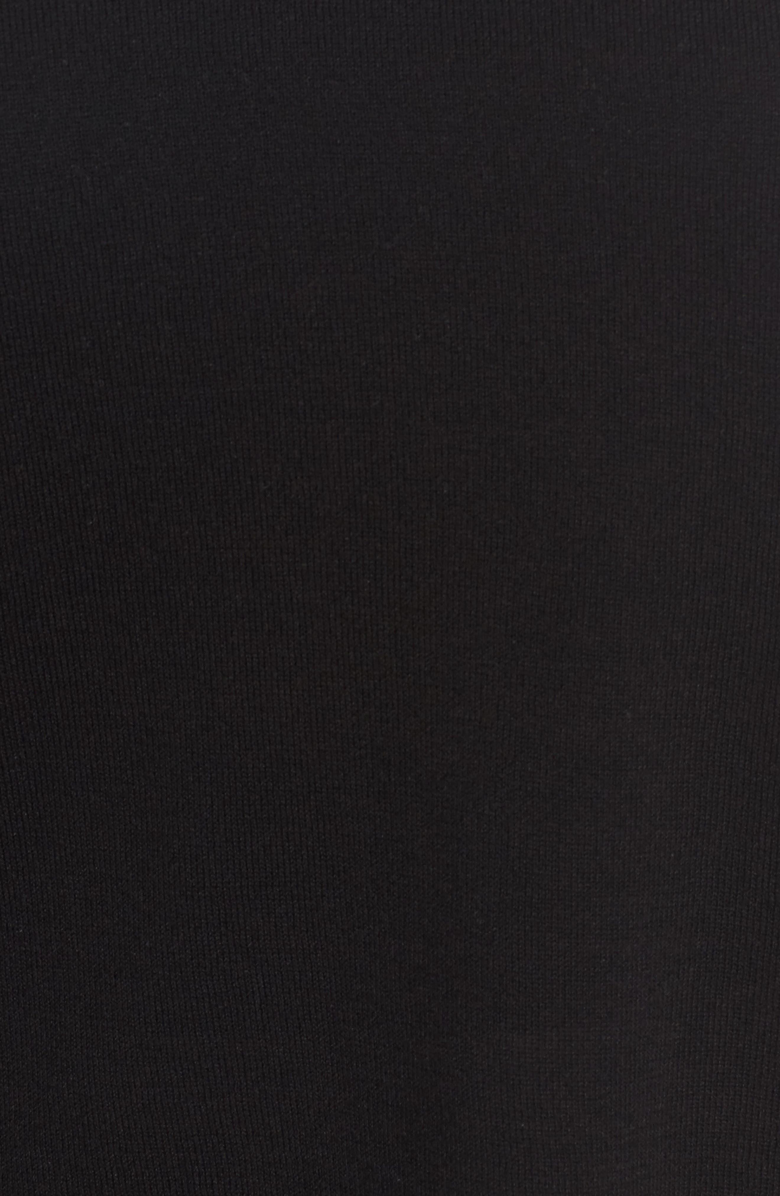 Tencel<sup>®</sup> Knit Dolman Top,                             Alternate thumbnail 5, color,                             001
