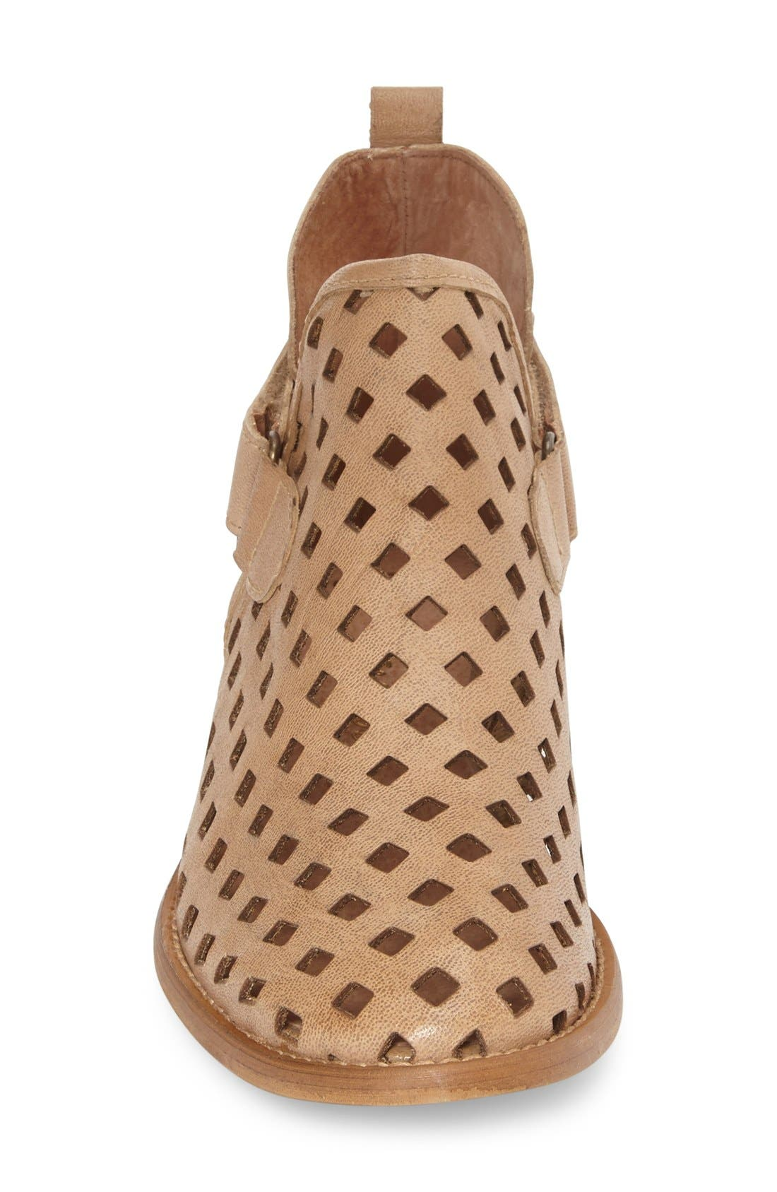 'Caila' Perforated Bootie, Main, color, 201