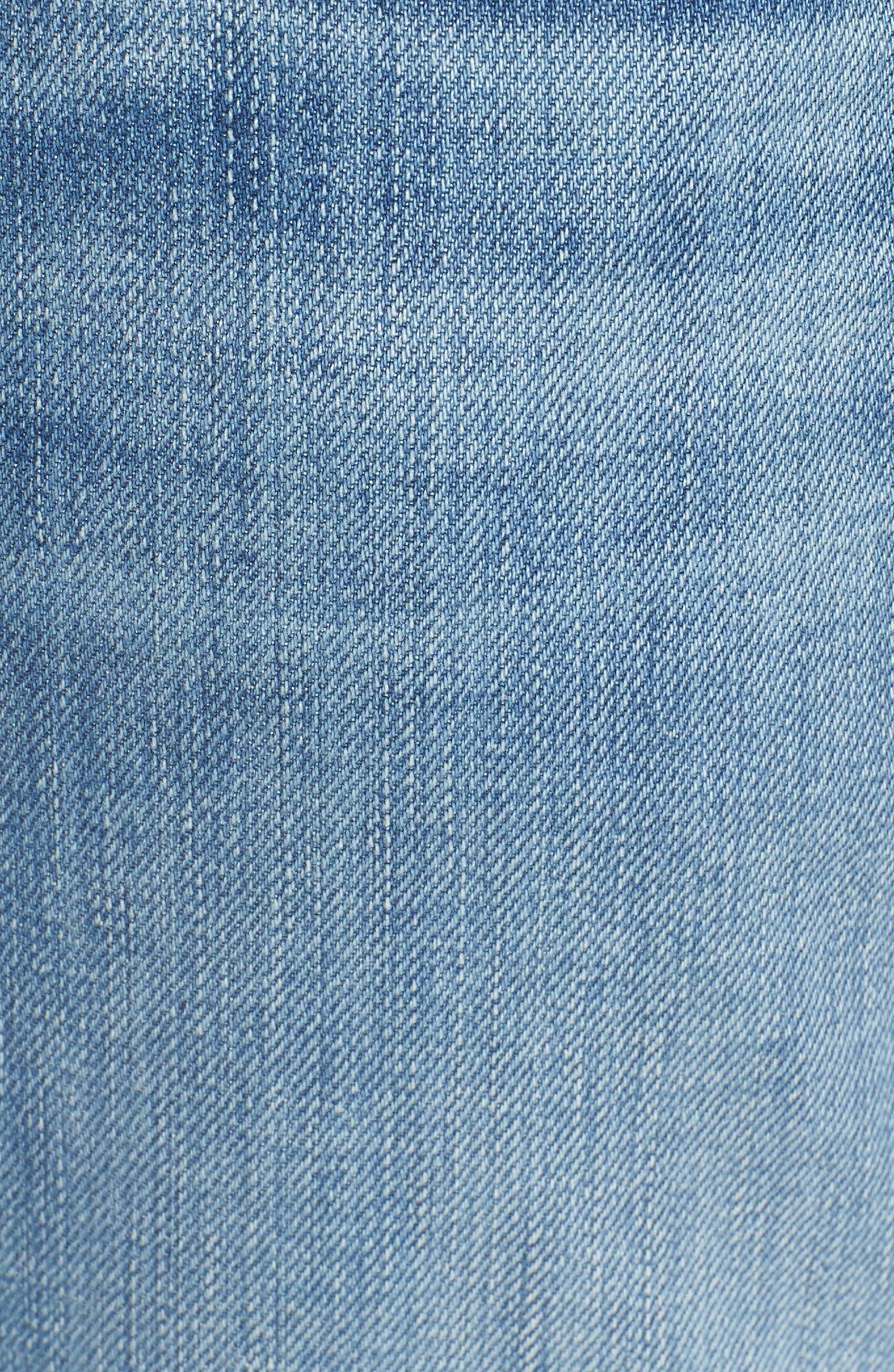 The Straight Slim Straight Leg Jeans,                             Alternate thumbnail 5, color,                             403