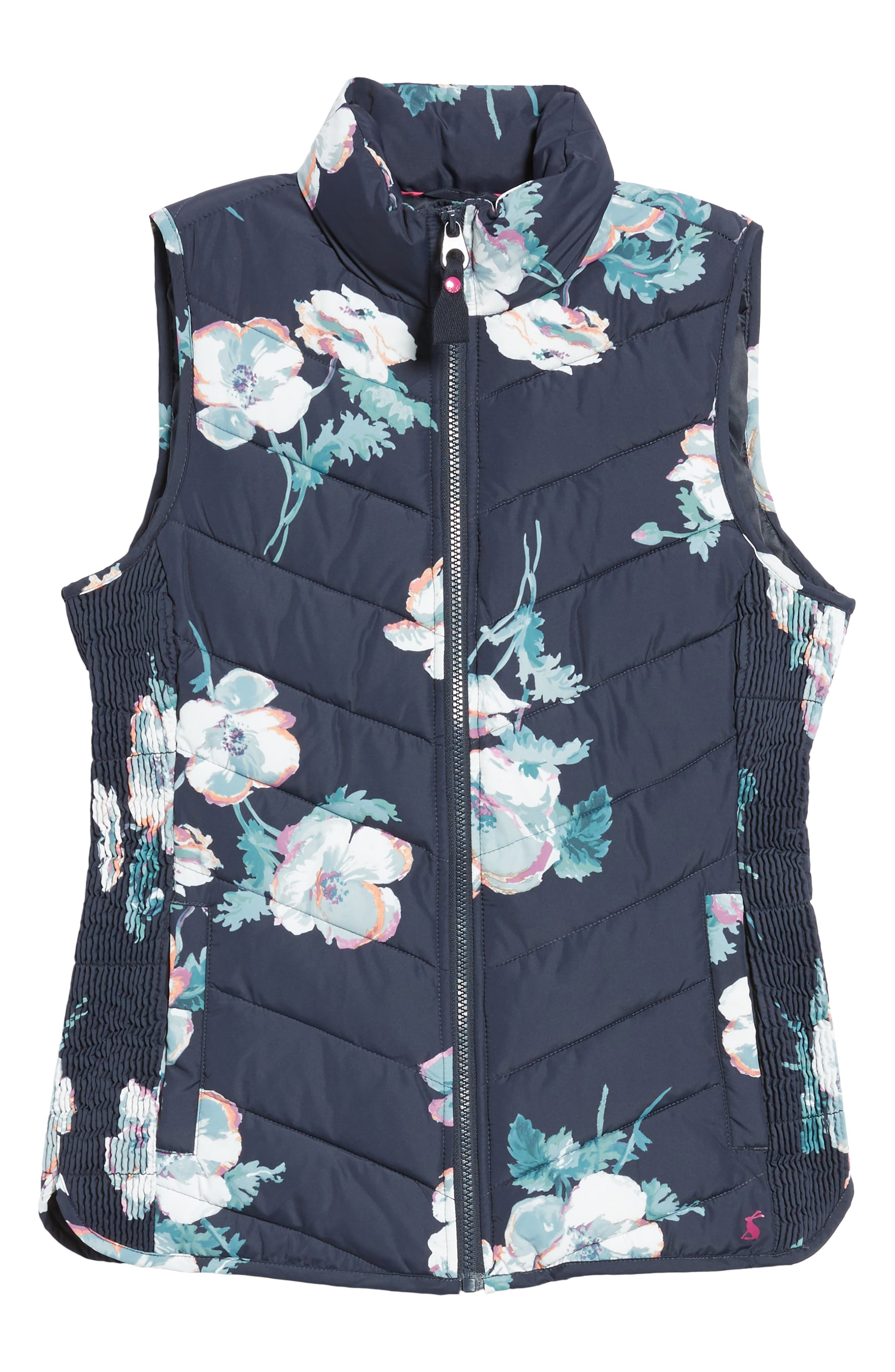 Print Quilted Vest,                             Alternate thumbnail 5, color,                             407