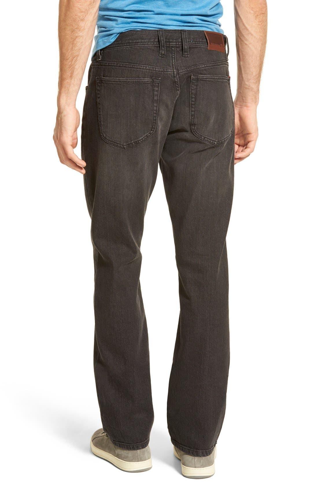 'Duke' Relaxed Fit Jeans,                             Alternate thumbnail 2, color,                             002
