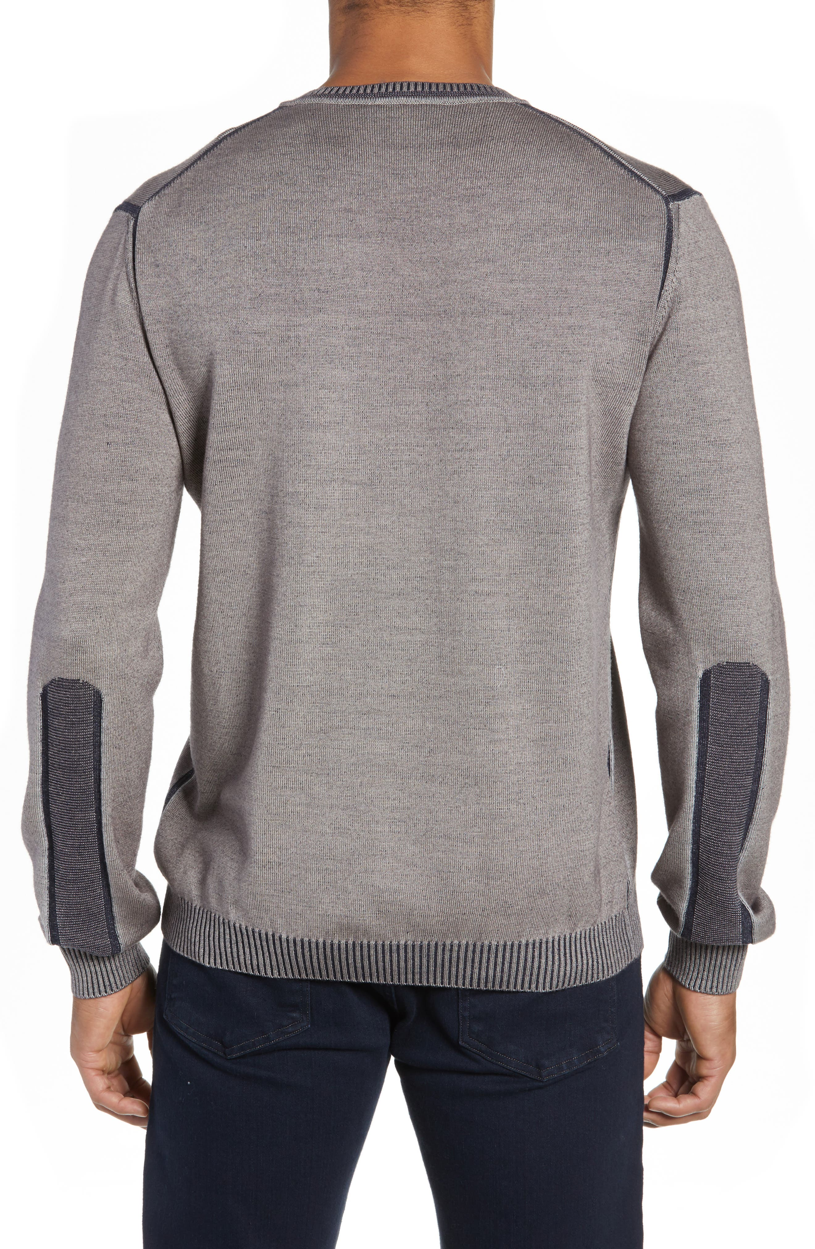 Wool Blend Sweater,                             Alternate thumbnail 2, color,                             TAUPE