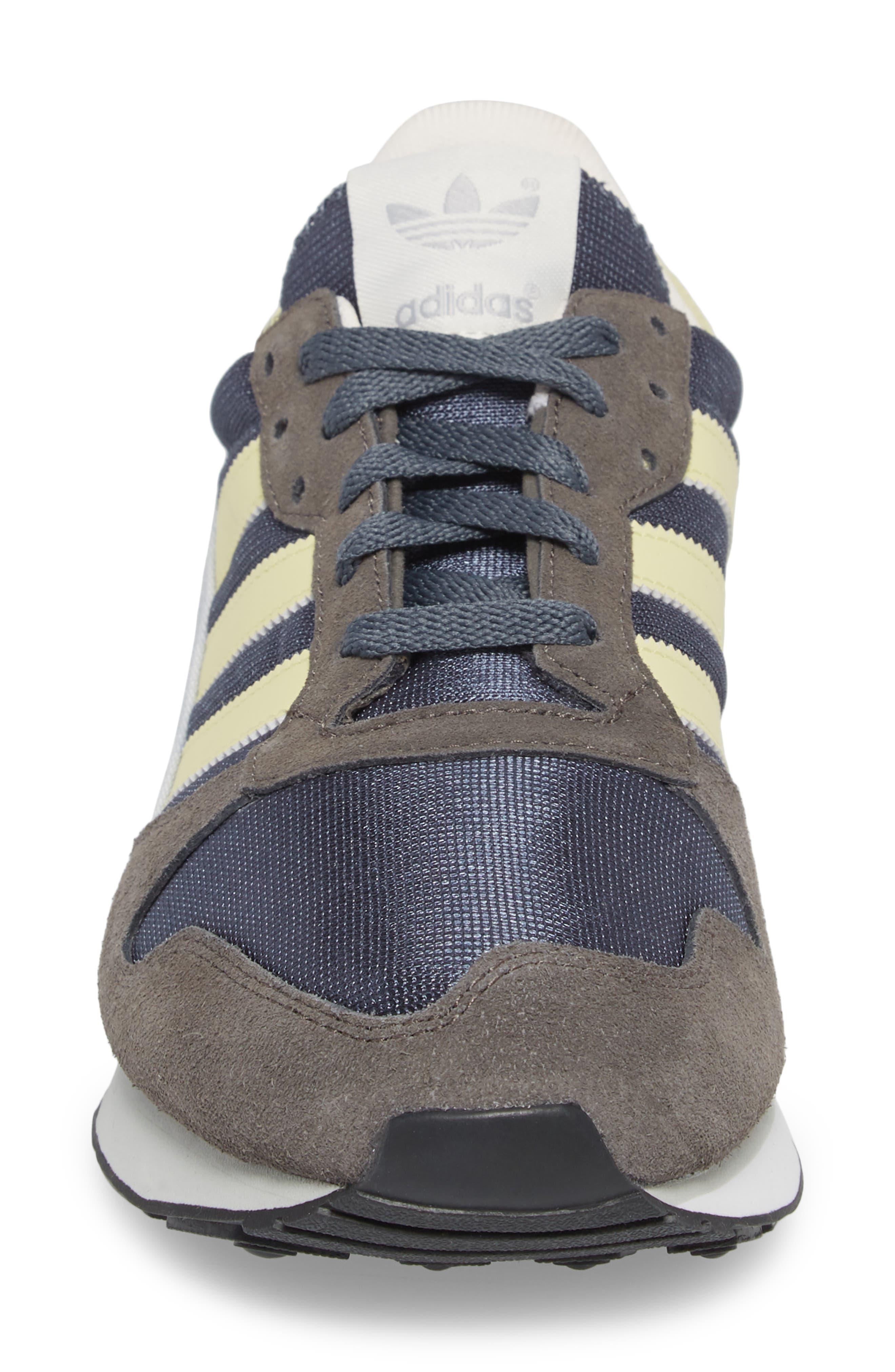 ZX 280 SPZL Sneaker,                             Alternate thumbnail 4, color,                             WHITE/ GREY/ WHITE