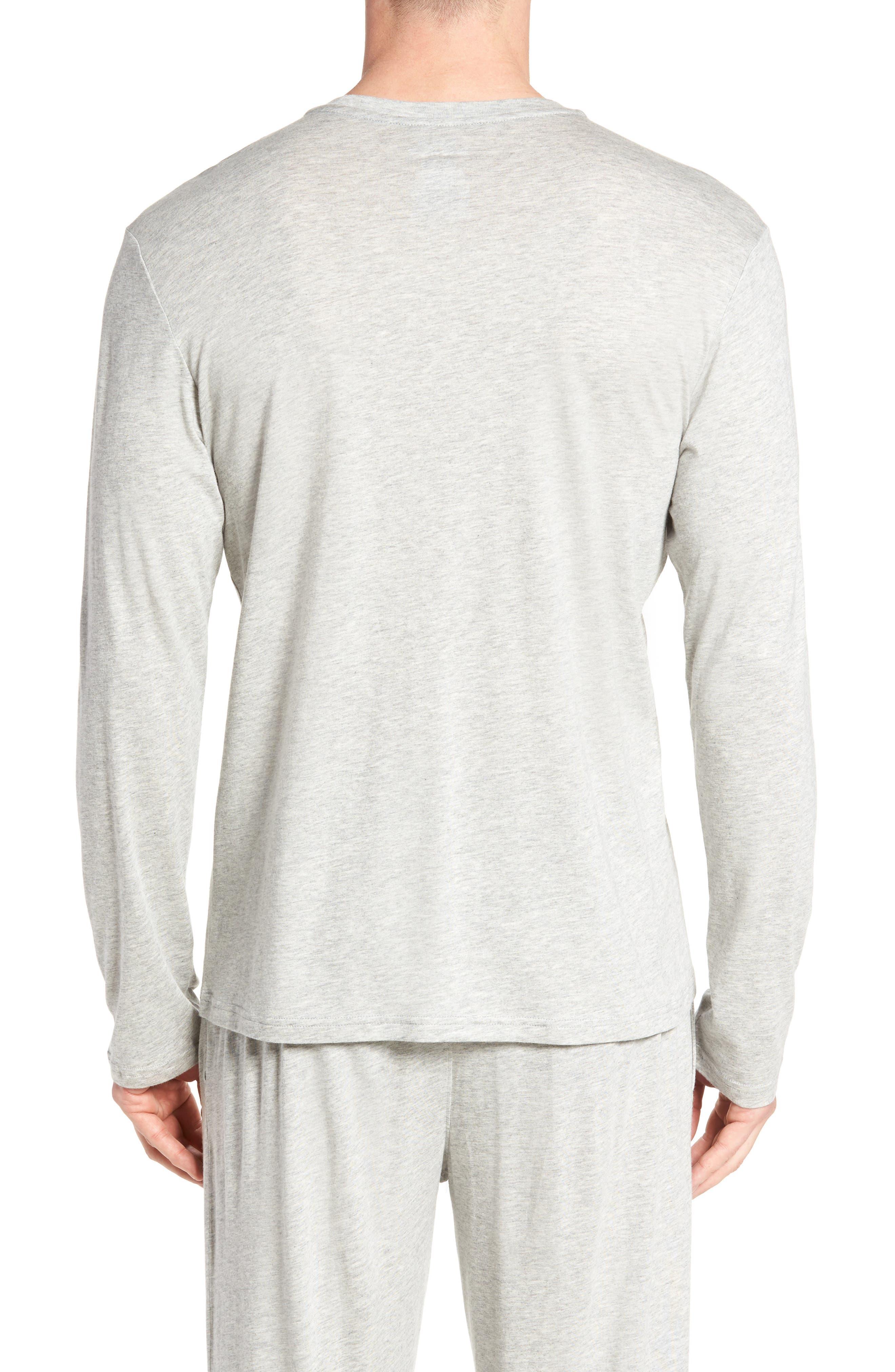 Supreme Comfort Cotton & Modal T-Shirt,                             Alternate thumbnail 2, color,                             024