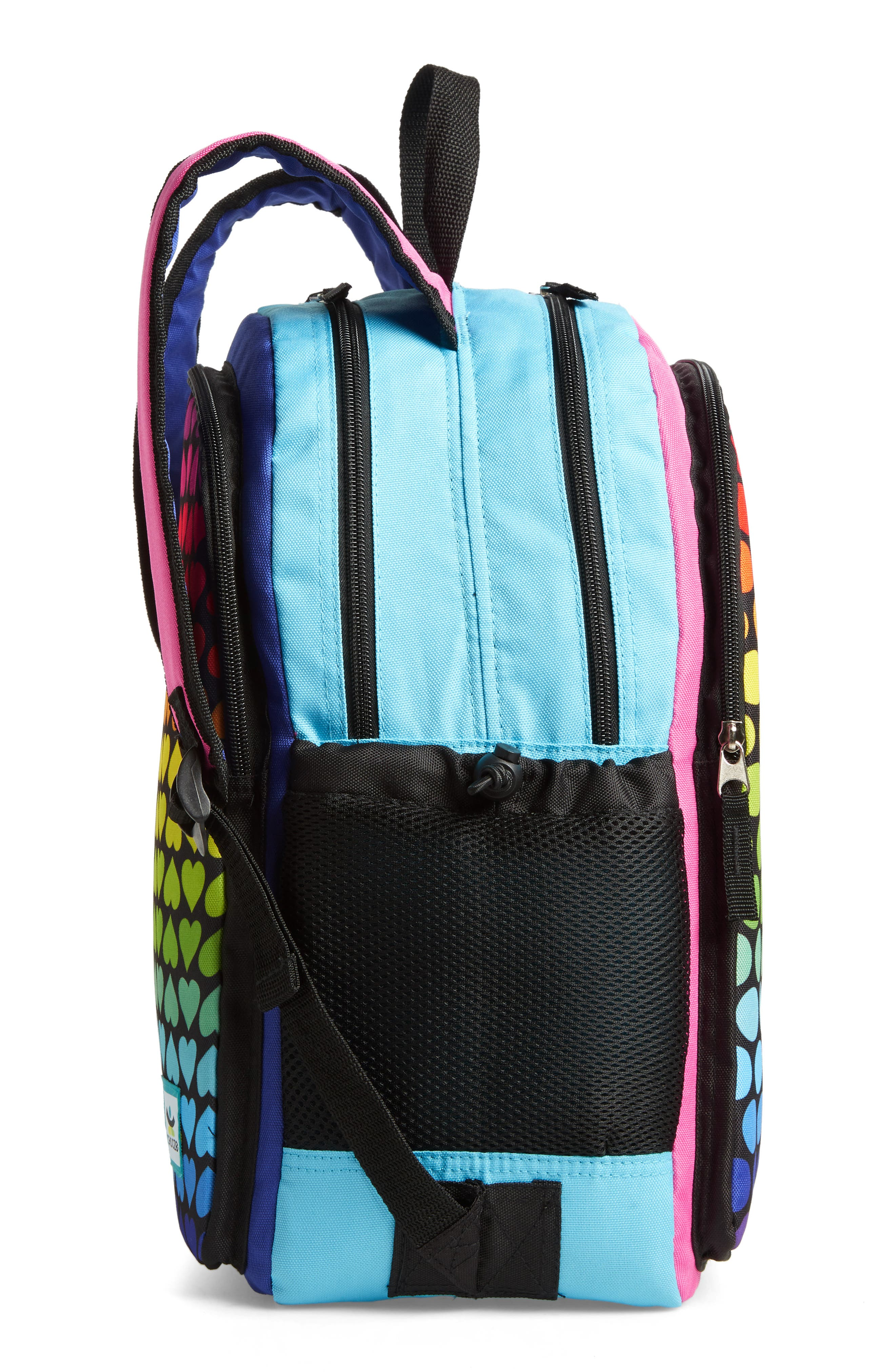 Hue Rainbow Reversible Backpack,                             Alternate thumbnail 5, color,                             001