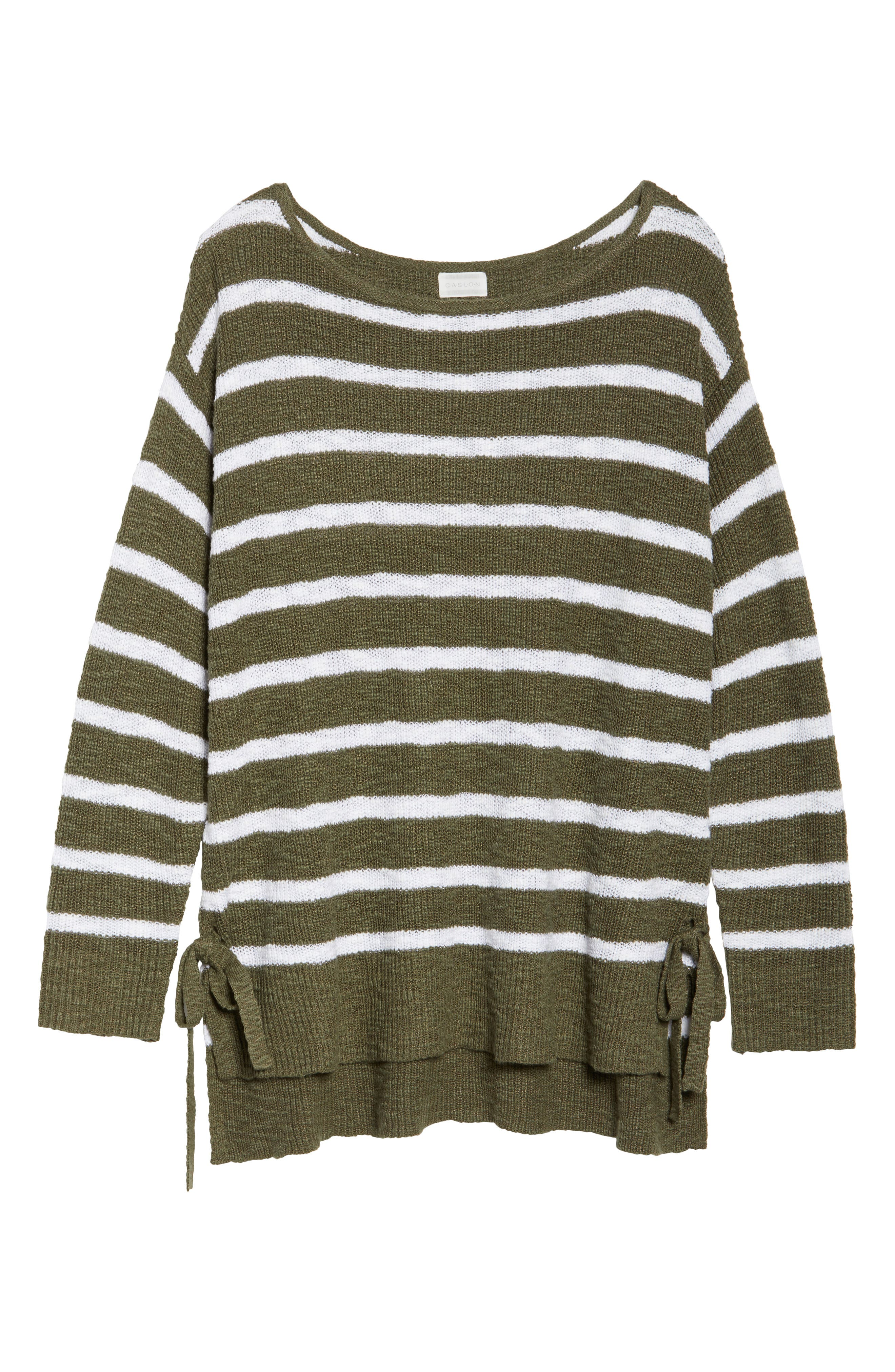 Tunic Sweater with Side Ties,                             Alternate thumbnail 17, color,