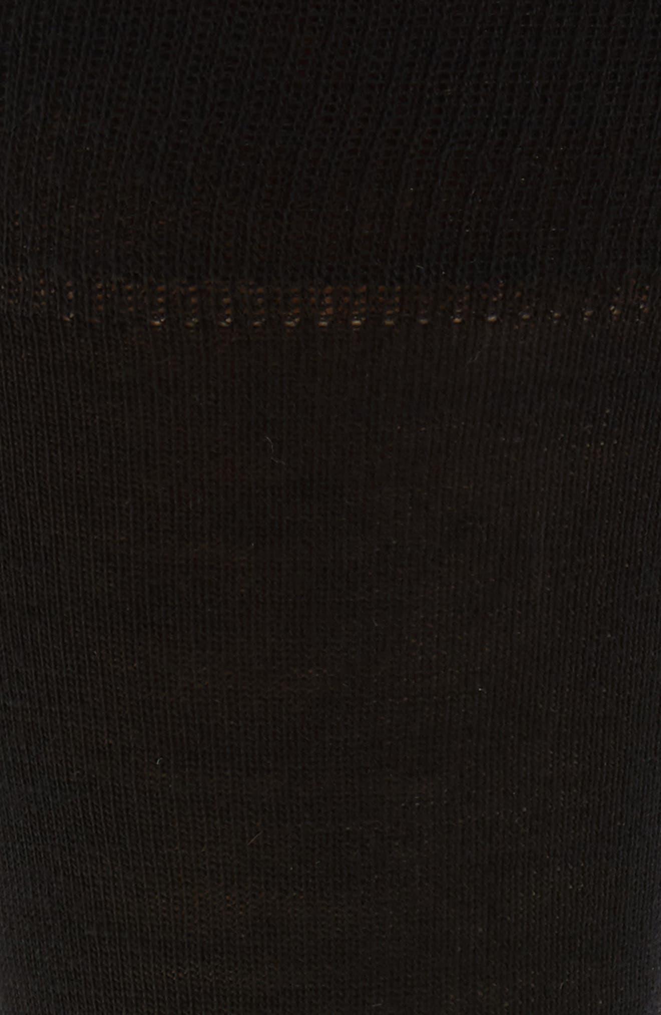 Merino Wool Blend Socks,                             Alternate thumbnail 2, color,                             001