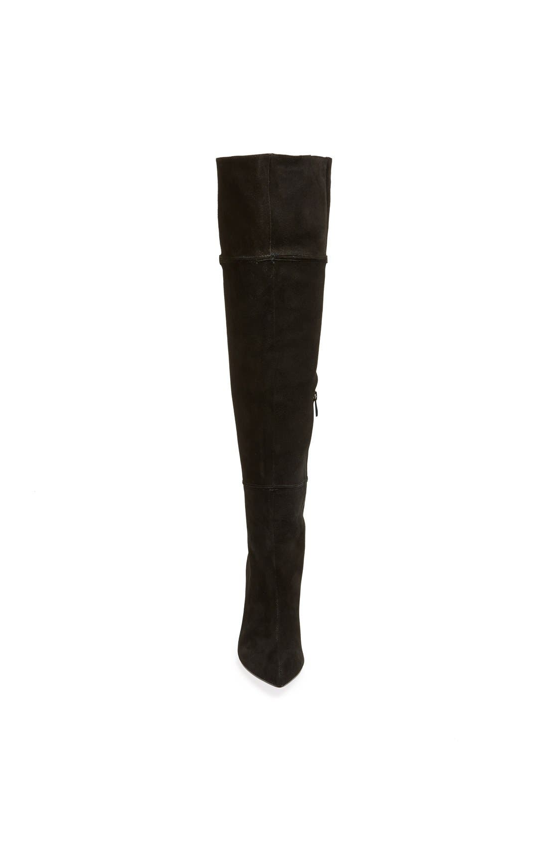 'Cassie' Over the Knee Boot,                             Alternate thumbnail 3, color,                             001