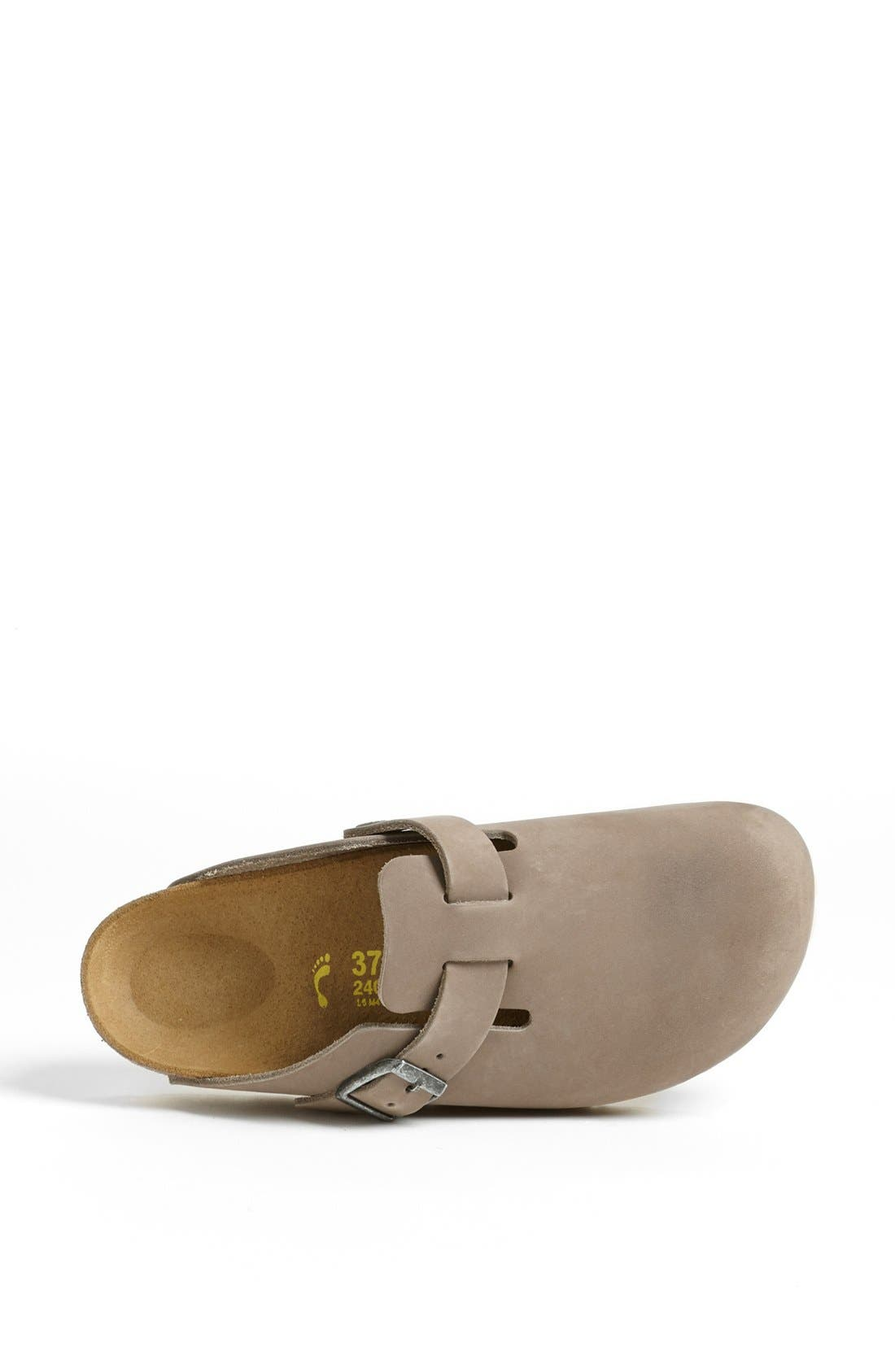 'Boston' Classic Oiled Leather Clog,                             Alternate thumbnail 41, color,