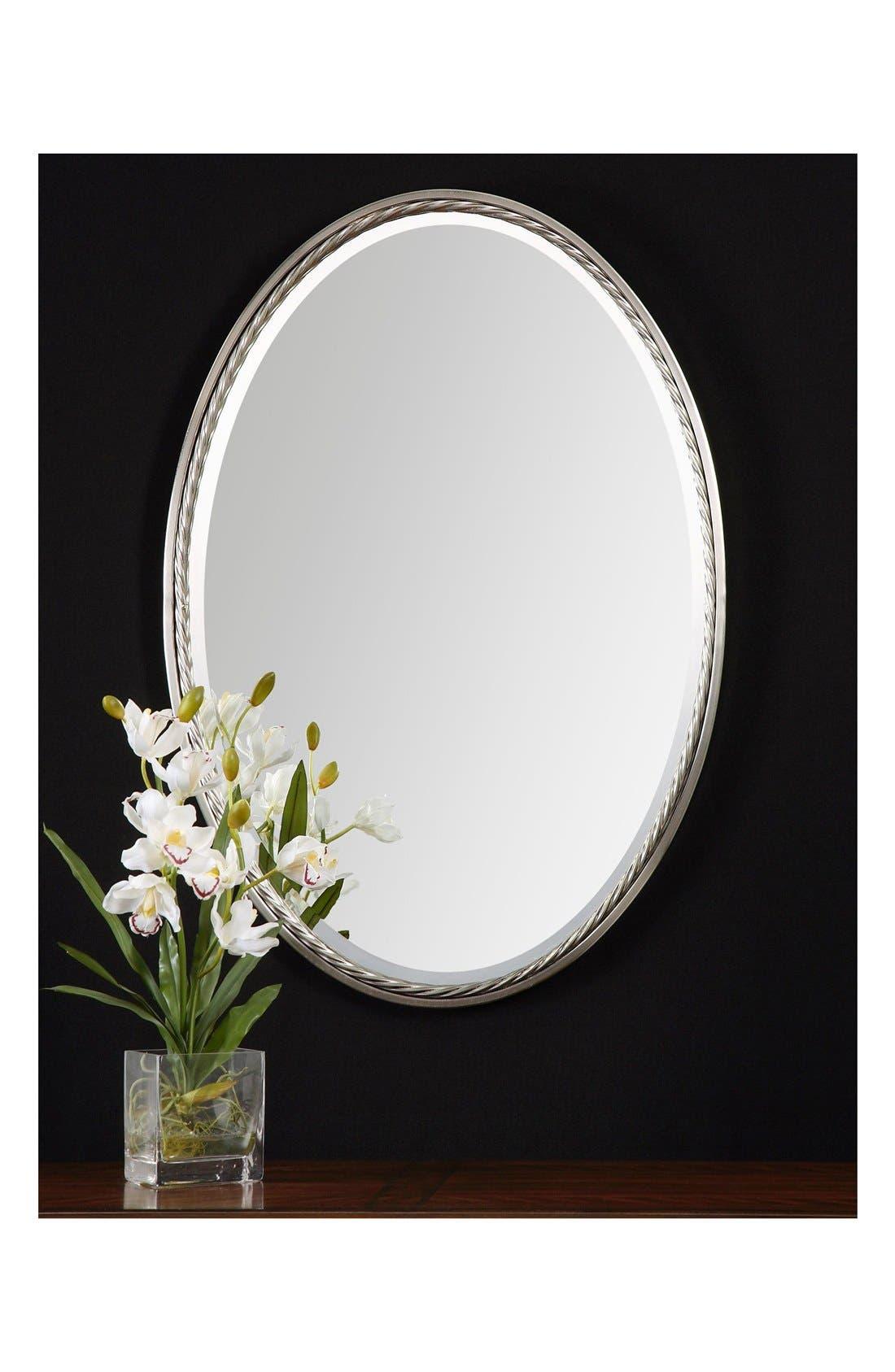 'Casalina' Oval Mirror,                             Alternate thumbnail 4, color,                             040