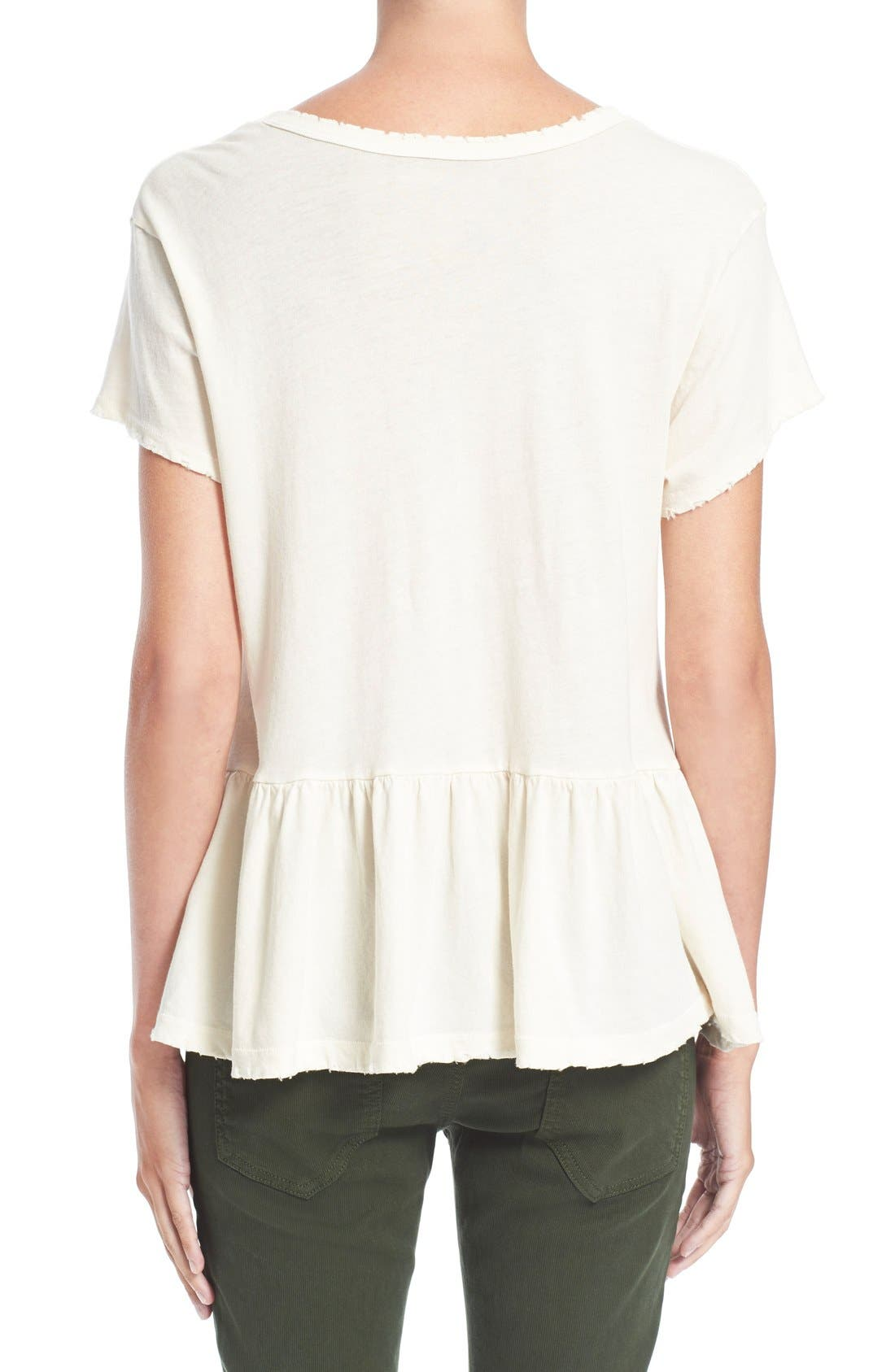 The Ruffle Tee,                             Alternate thumbnail 38, color,