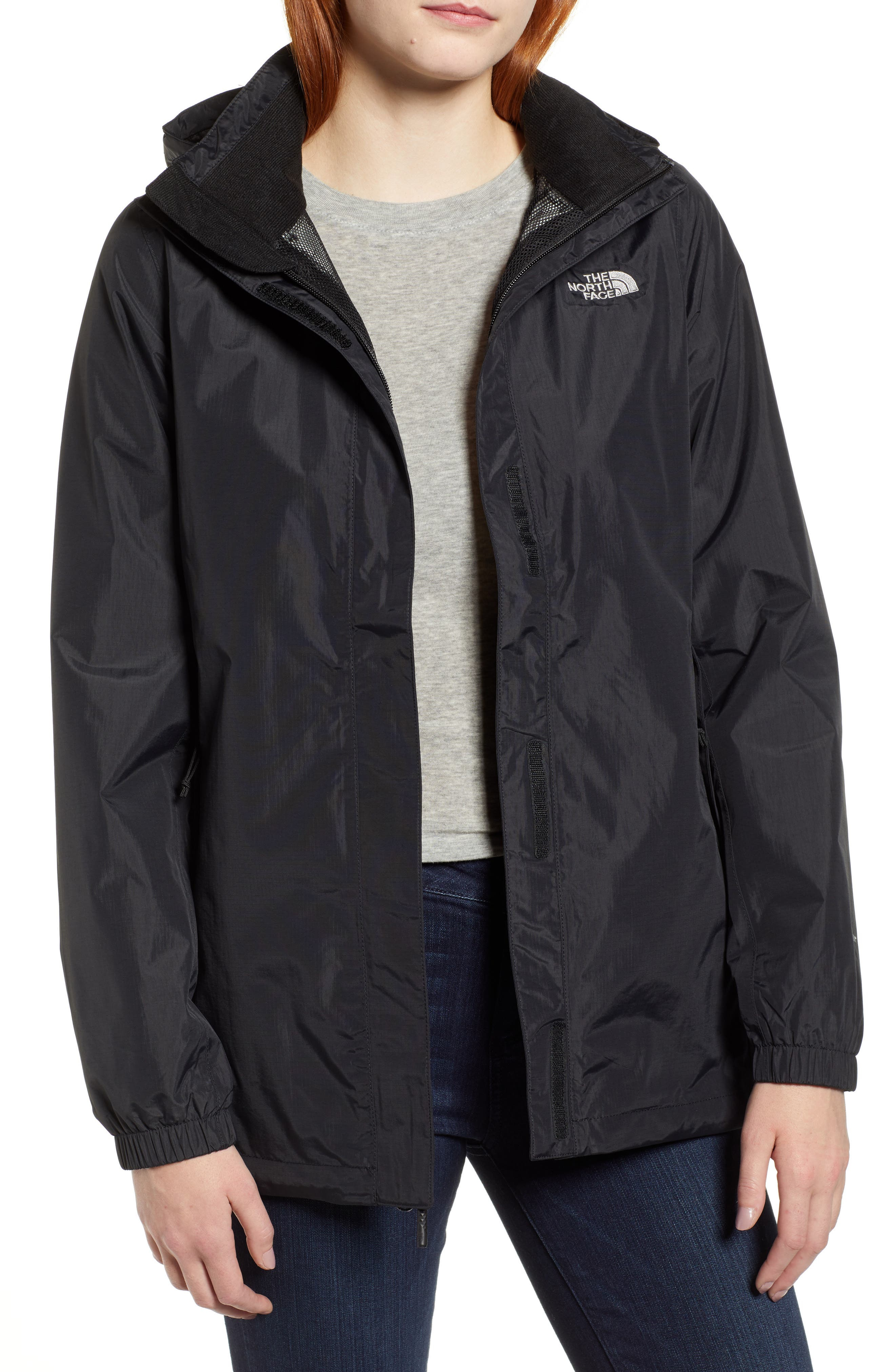 The North Face Resolve Waterproof Parka, Black