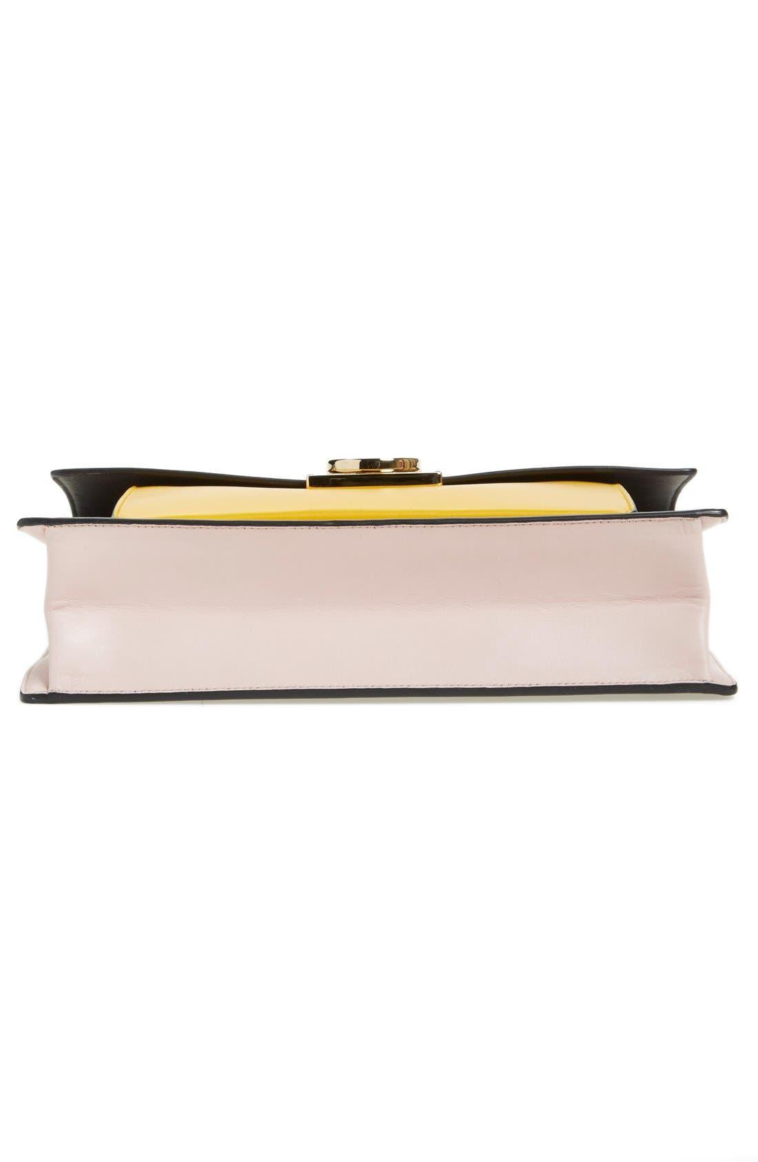 'Large Marisol' Leather Shoulder Bag,                             Alternate thumbnail 3, color,                             250