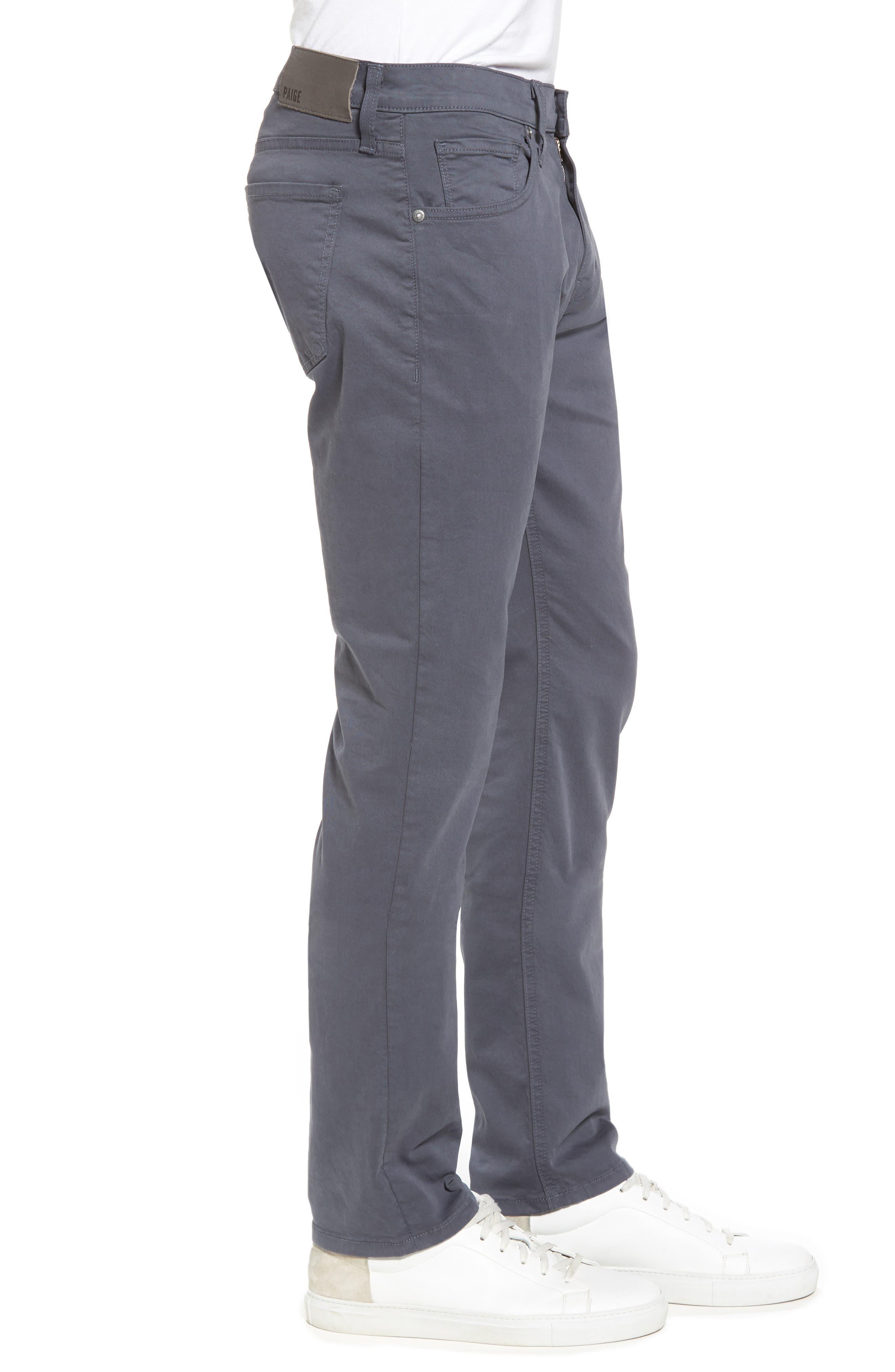 Federal Slim Straight Leg Twill Pants,                             Alternate thumbnail 3, color,                             MOON SHADE