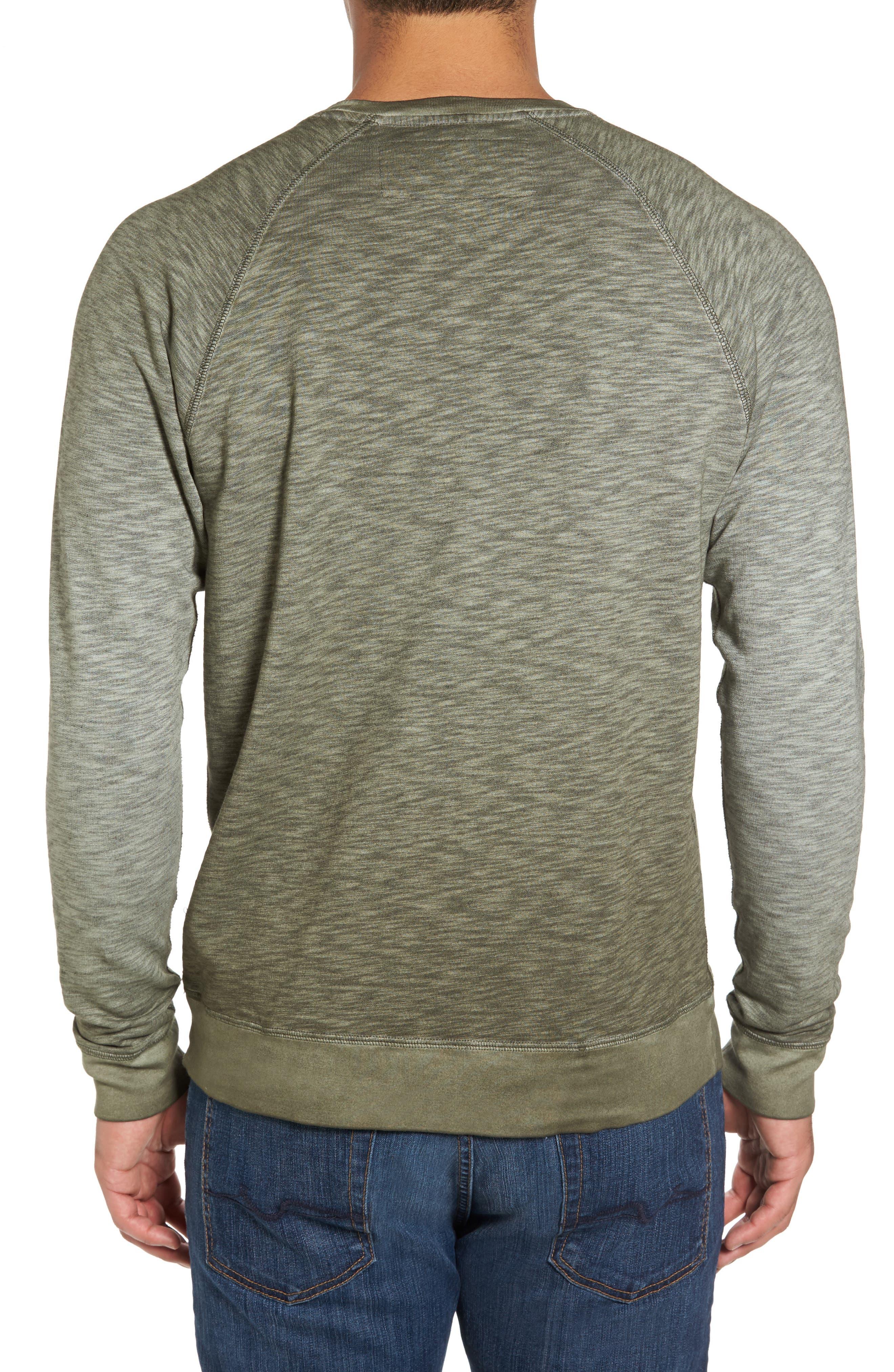 'Santiago' Ombré Crewneck Sweatshirt,                             Alternate thumbnail 2, color,                             301
