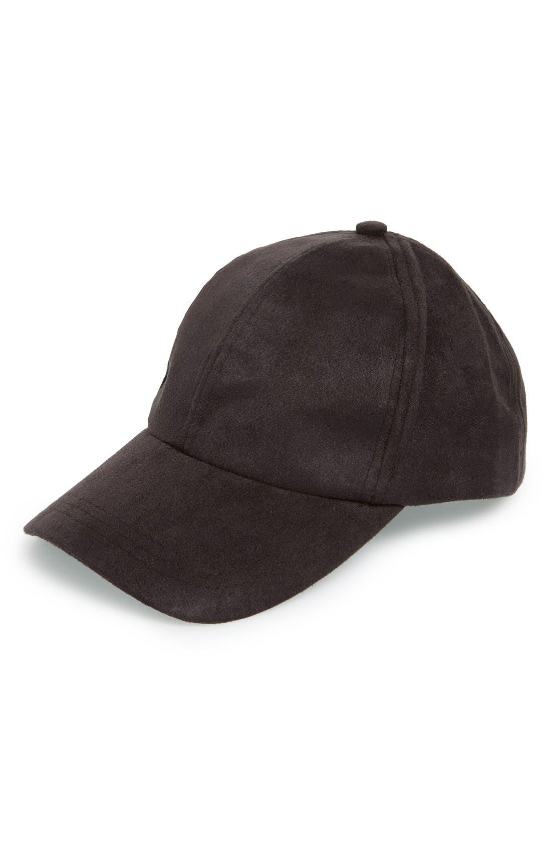 Snapback Baseball Cap, Main, color, 001