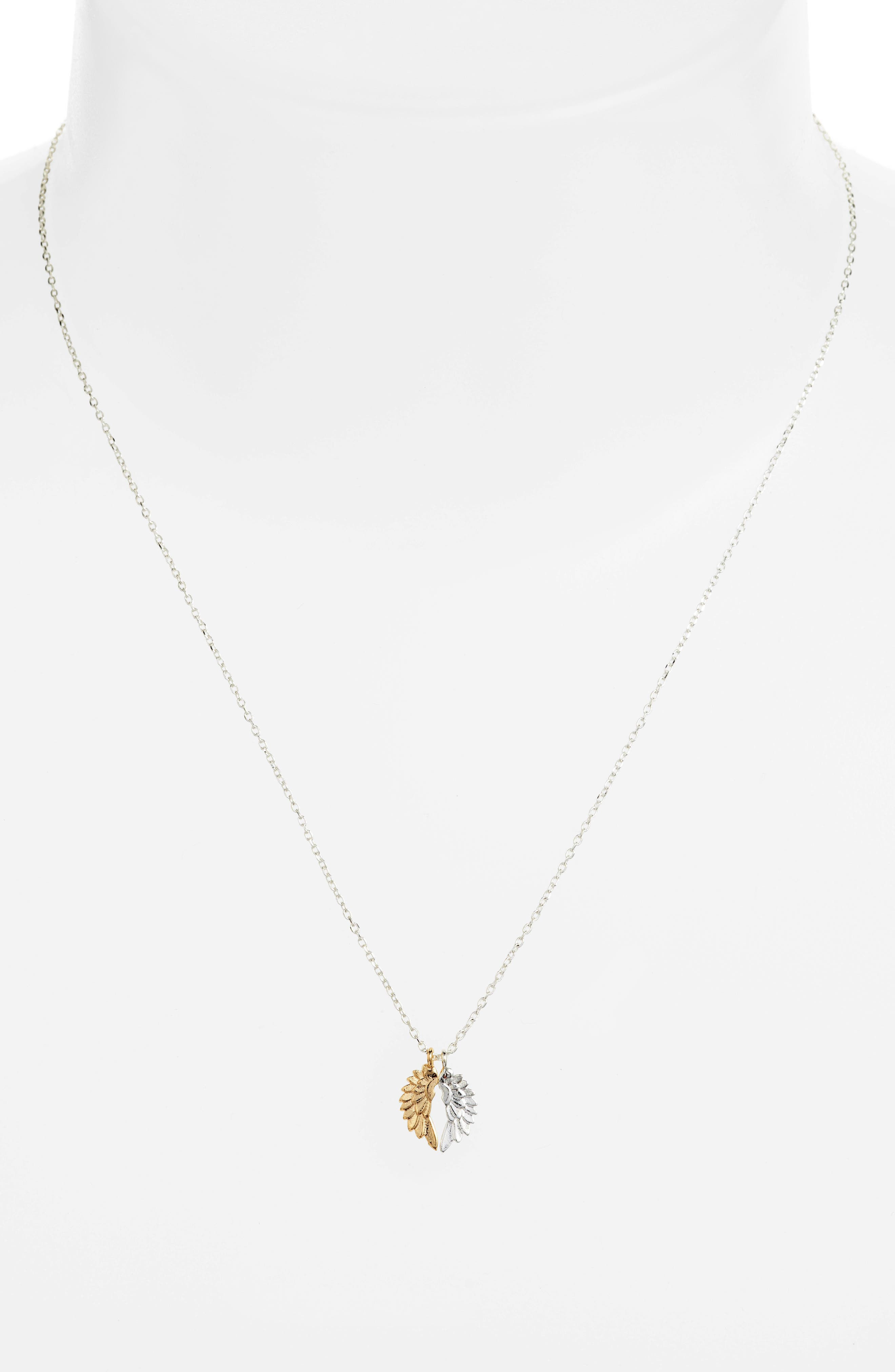 ESTELLA BARTLETT,                             She Believed She Could Wings Necklace,                             Alternate thumbnail 2, color,                             040