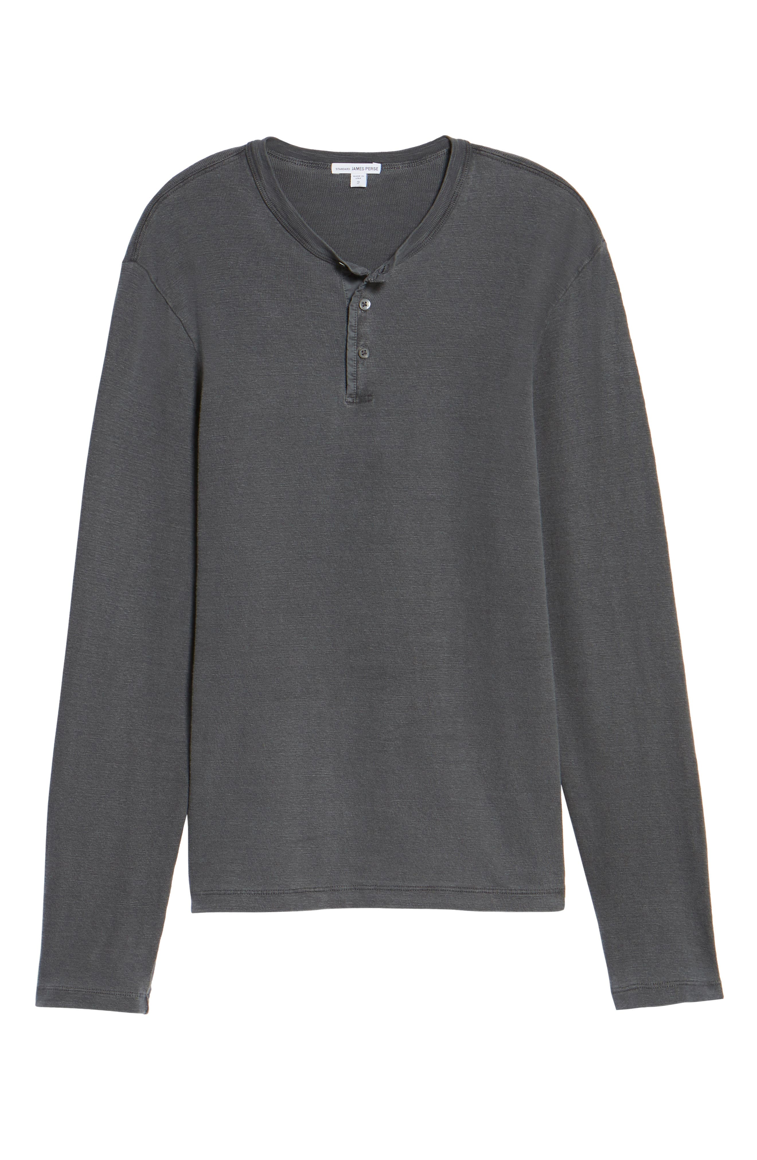 Long Sleeve Henley T-Shirt,                             Alternate thumbnail 18, color,