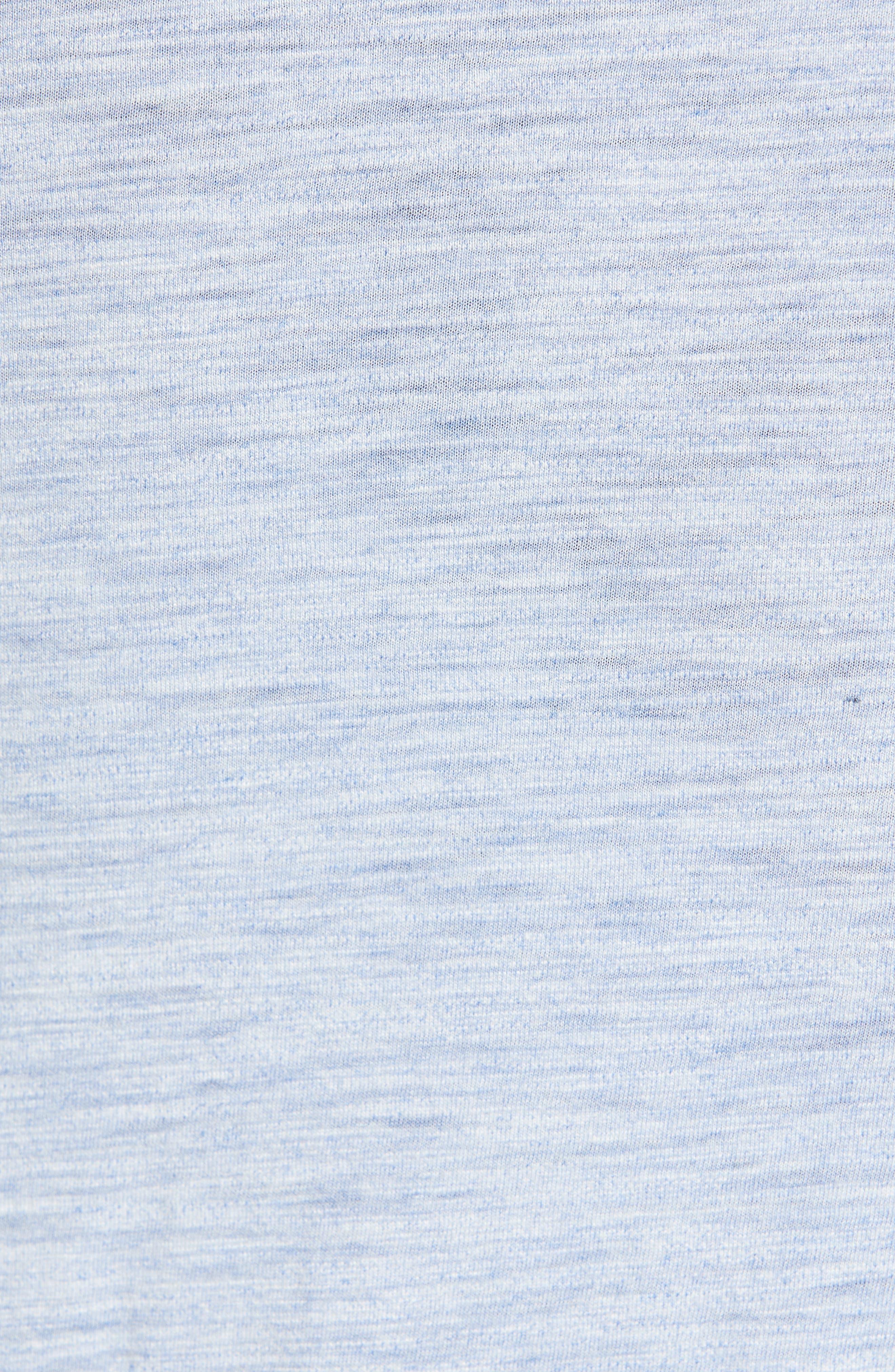 Gregory Moulinex Regular Fit Polo,                             Alternate thumbnail 5, color,                             STREAM BLUE