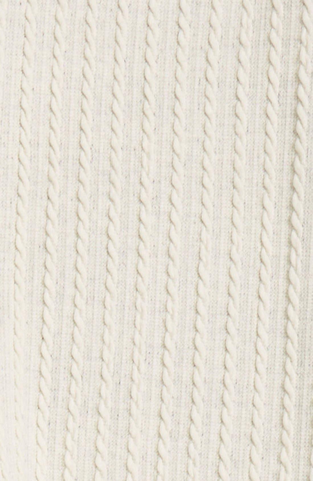 Cable Knit Leggings,                             Alternate thumbnail 13, color,